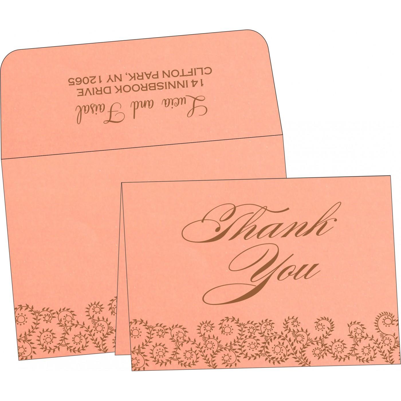 Thank You Cards : TYC-8217N - 123WeddingCards