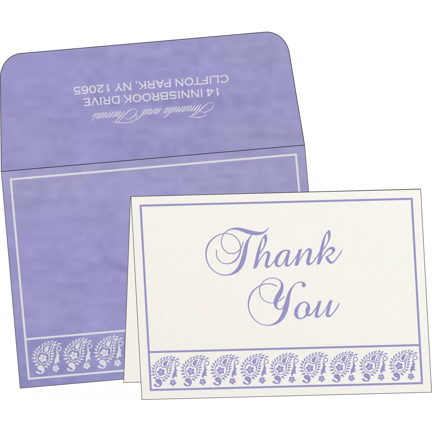 Thank You Cards : TYC-8218H - 123WeddingCards