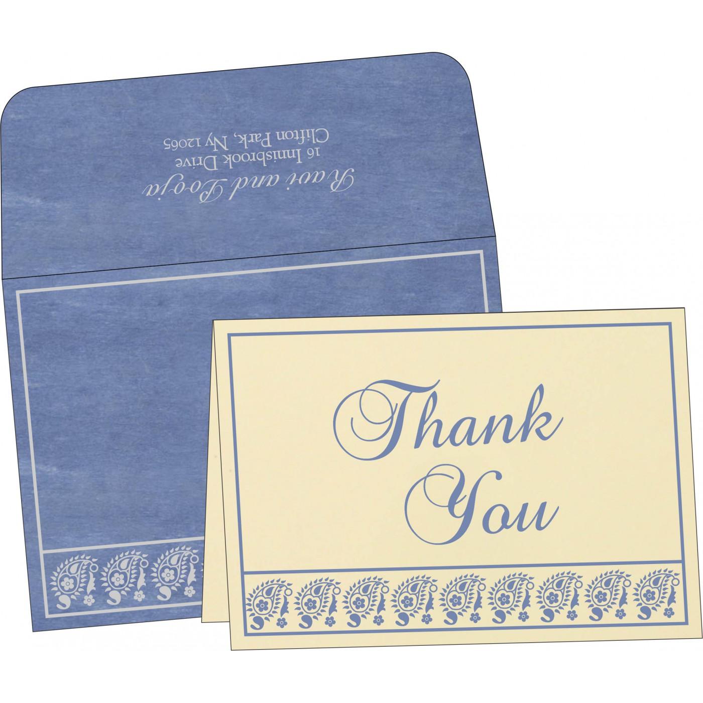 Thank You Cards : TYC-8218K - 123WeddingCards