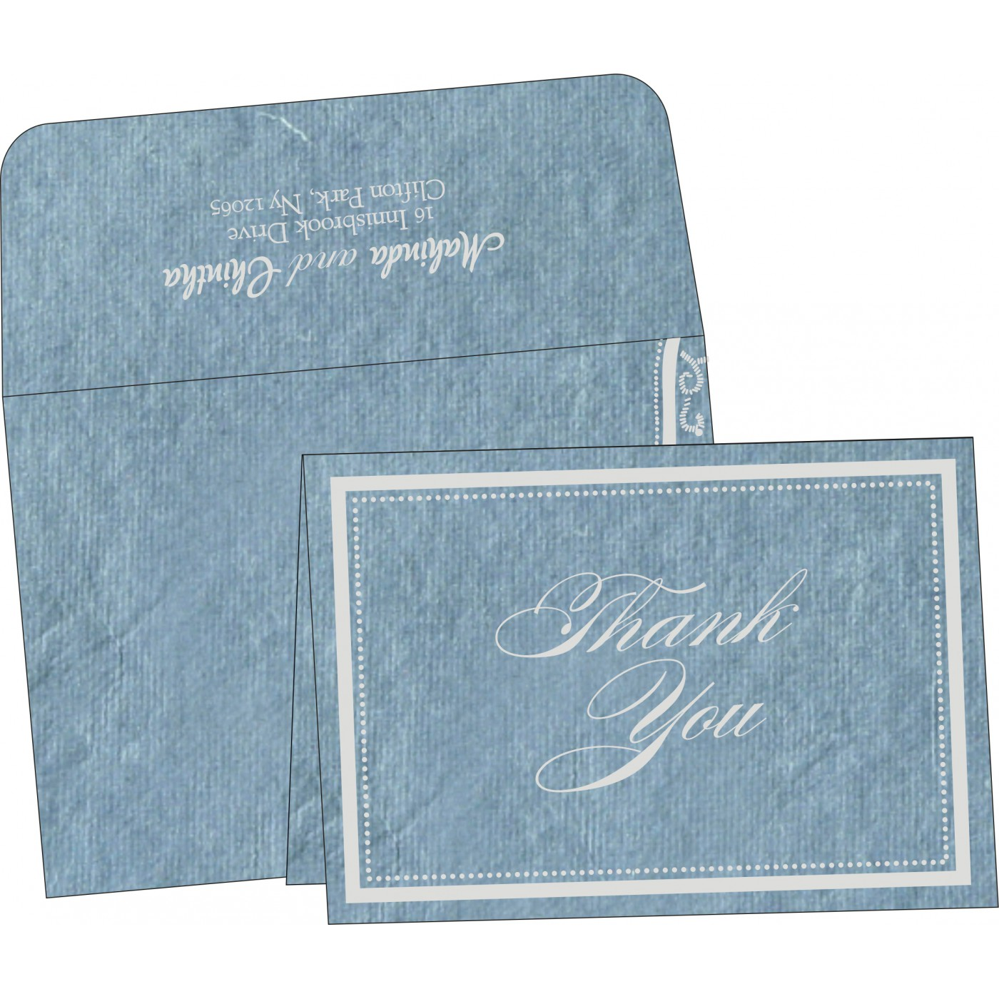Thank You Cards : TYC-8219E - 123WeddingCards