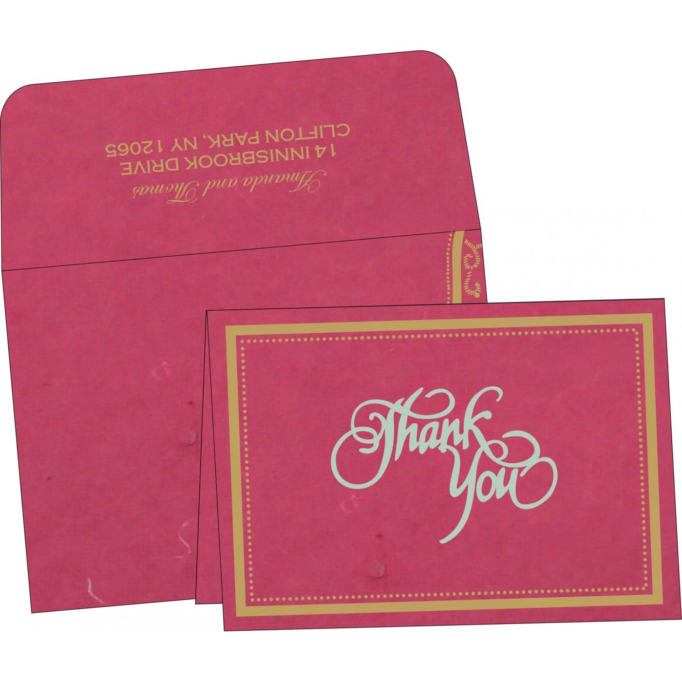 Thank You Cards : TYC-8219F - 123WeddingCards