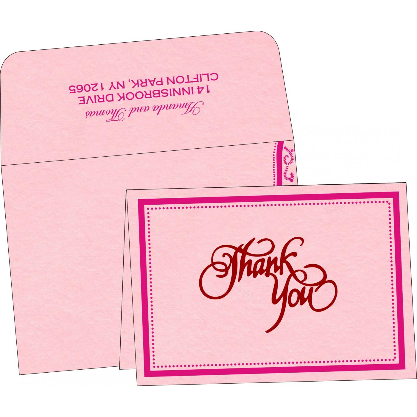 Thank You Cards : TYC-8219K - 123WeddingCards