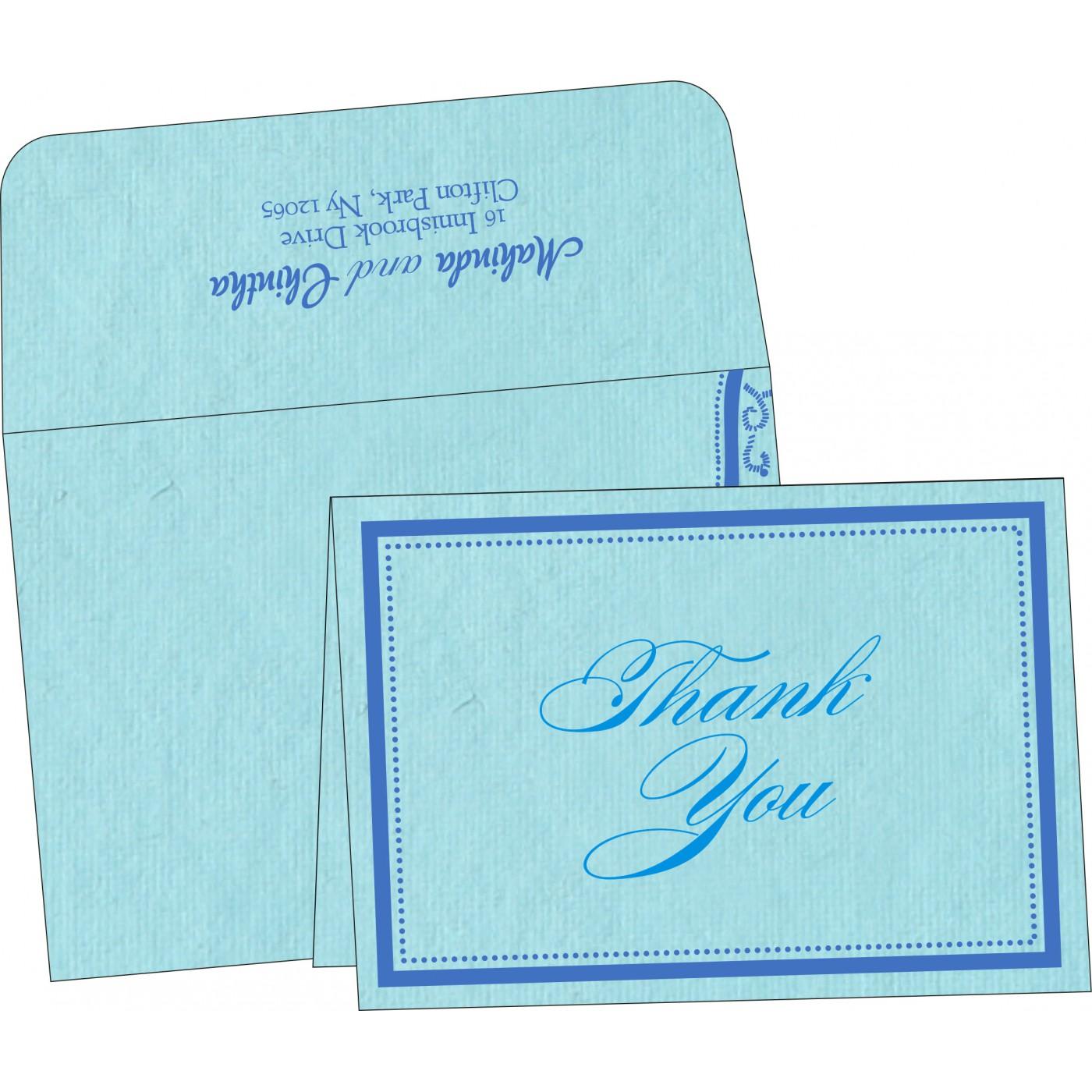 Thank You Cards : TYC-8219N - 123WeddingCards