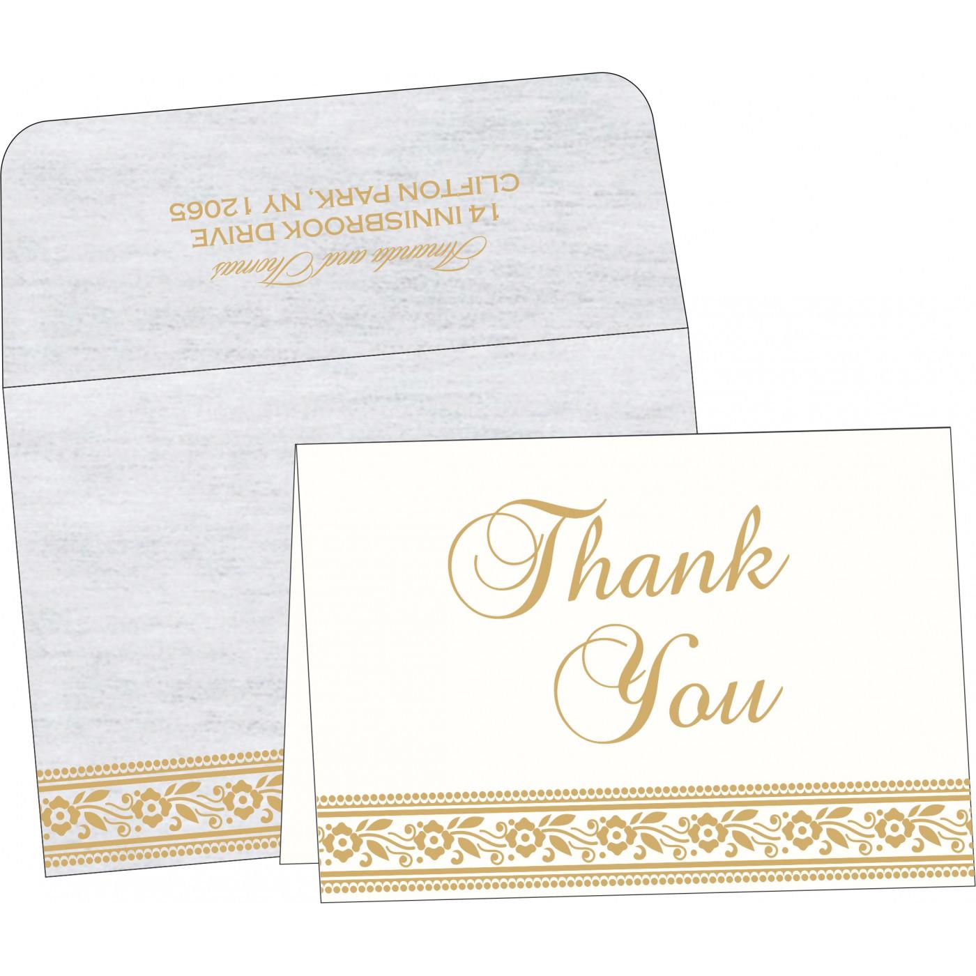 Thank You Cards : TYC-8220D - 123WeddingCards