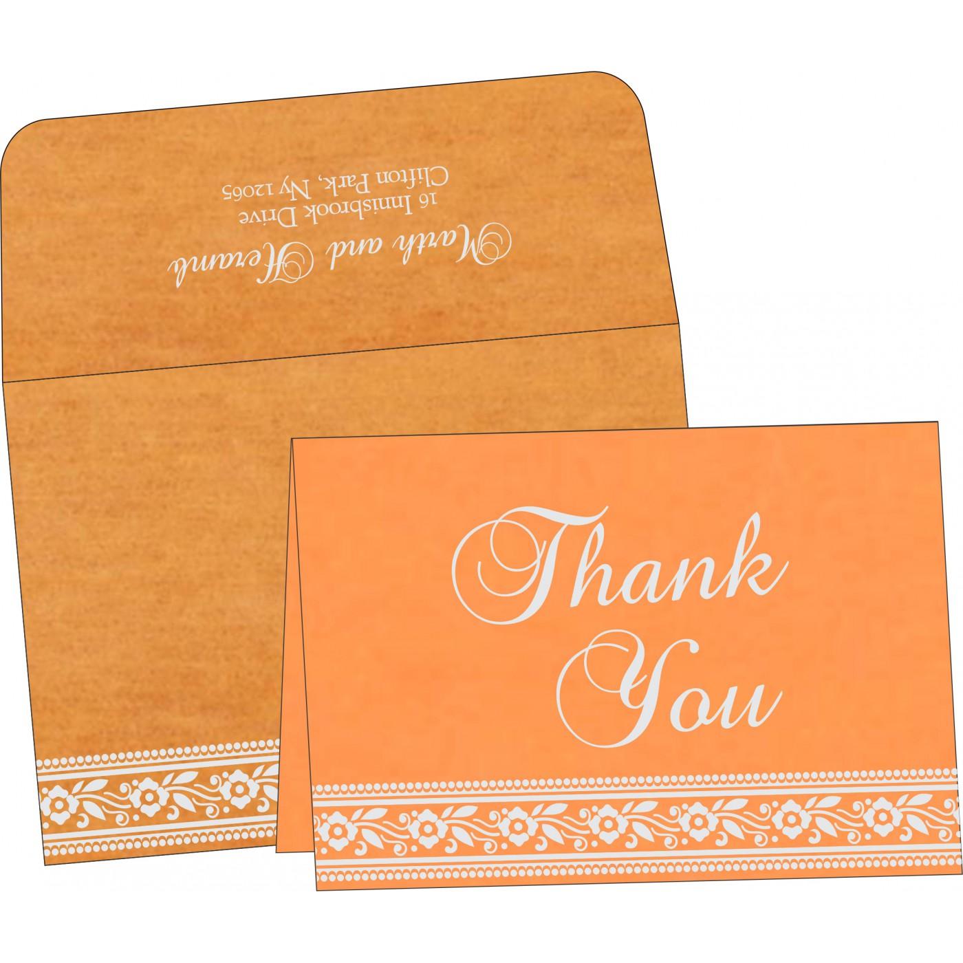 Thank You Cards : TYC-8220F - 123WeddingCards