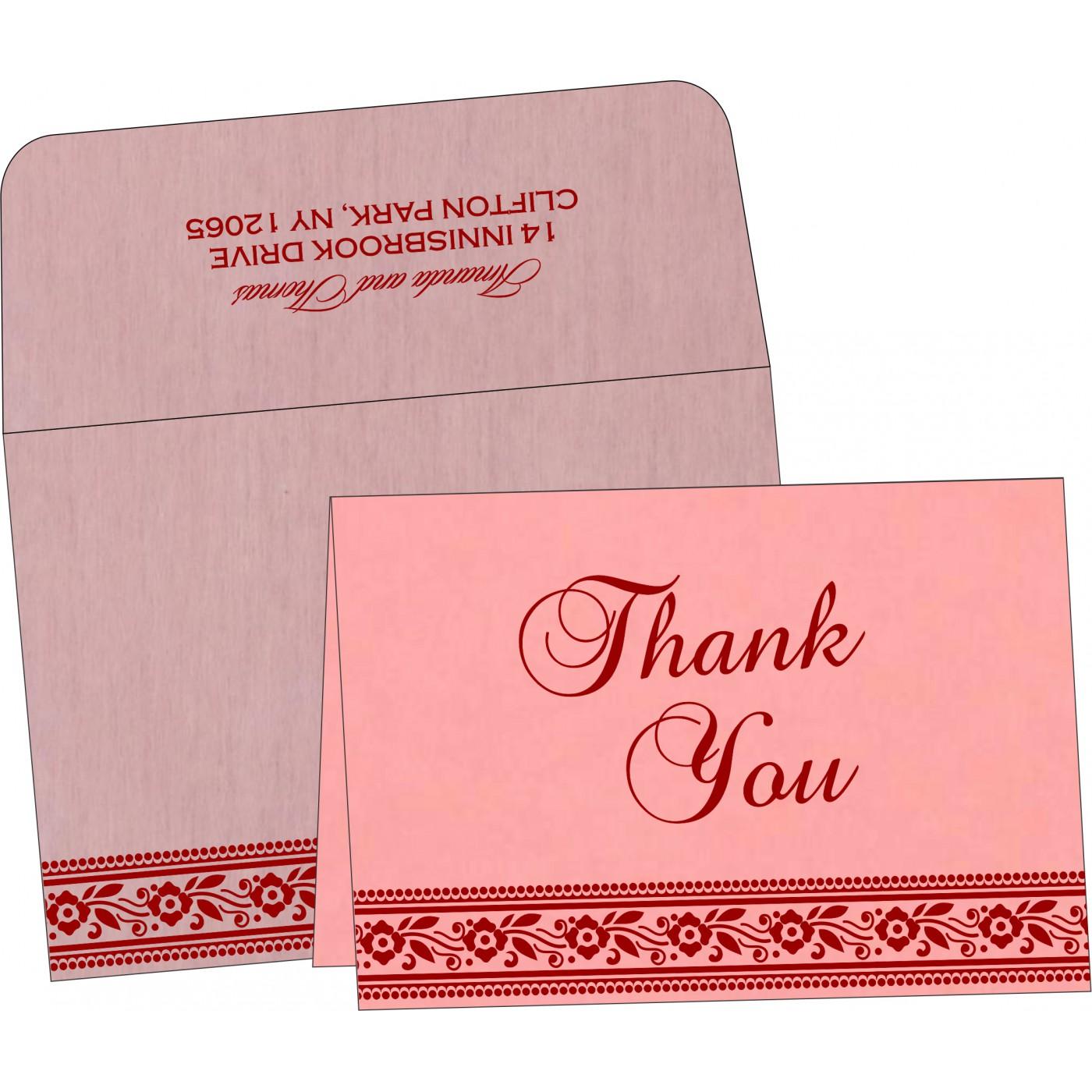 Thank You Cards : TYC-8220J - 123WeddingCards