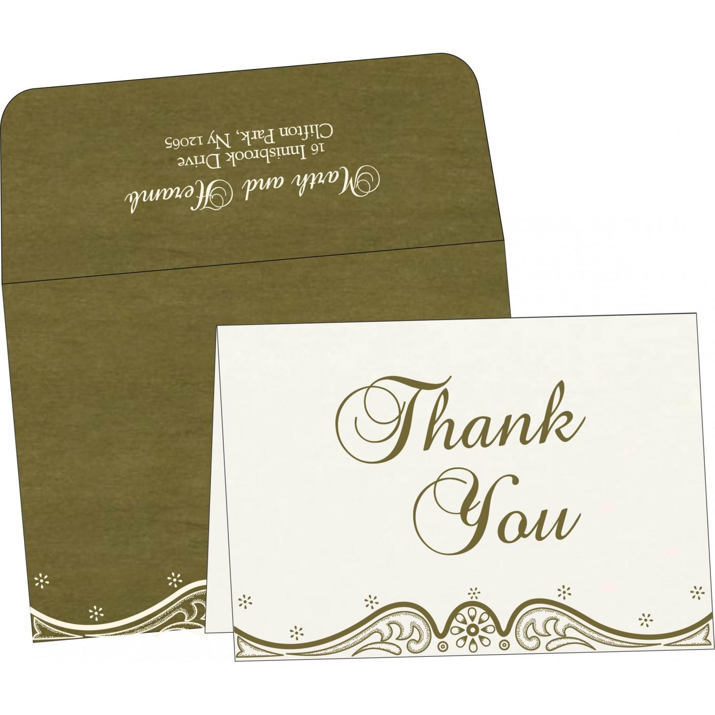 Thank You Cards : TYC-8221D - 123WeddingCards