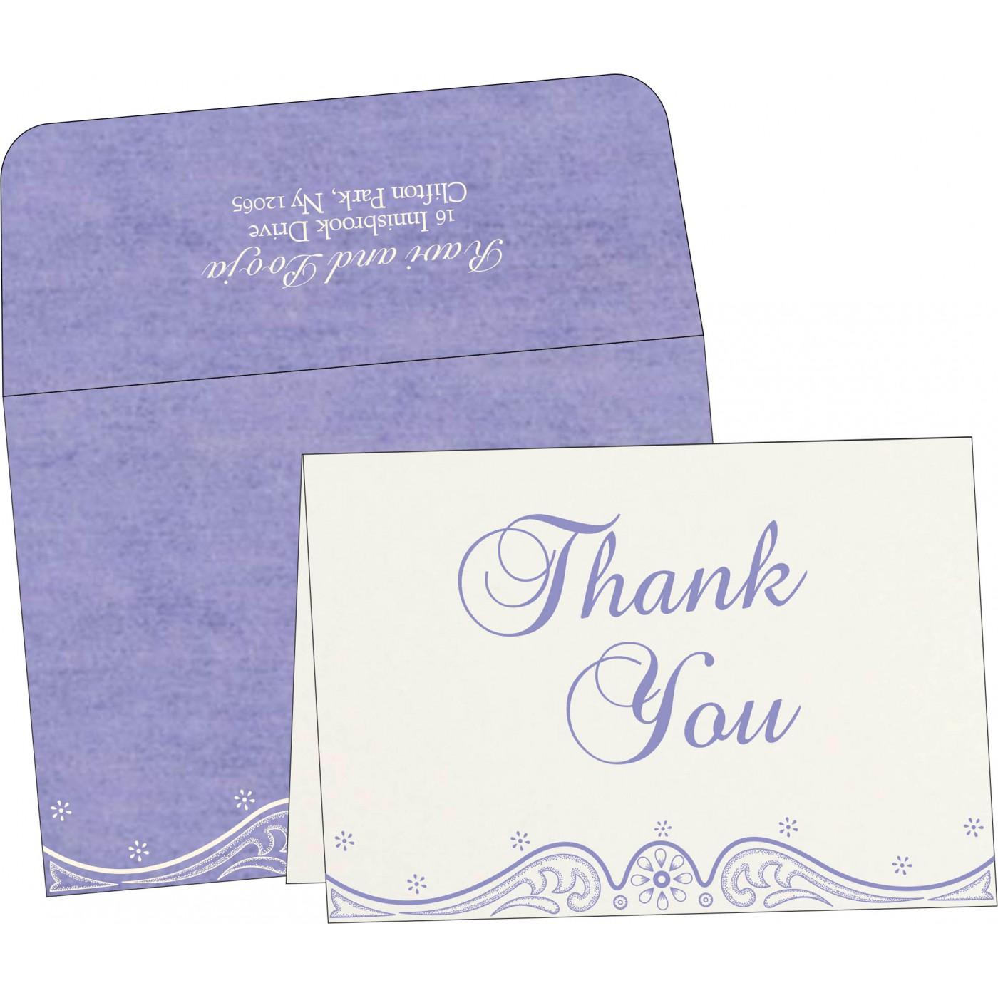 Thank You Cards : TYC-8221E - 123WeddingCards