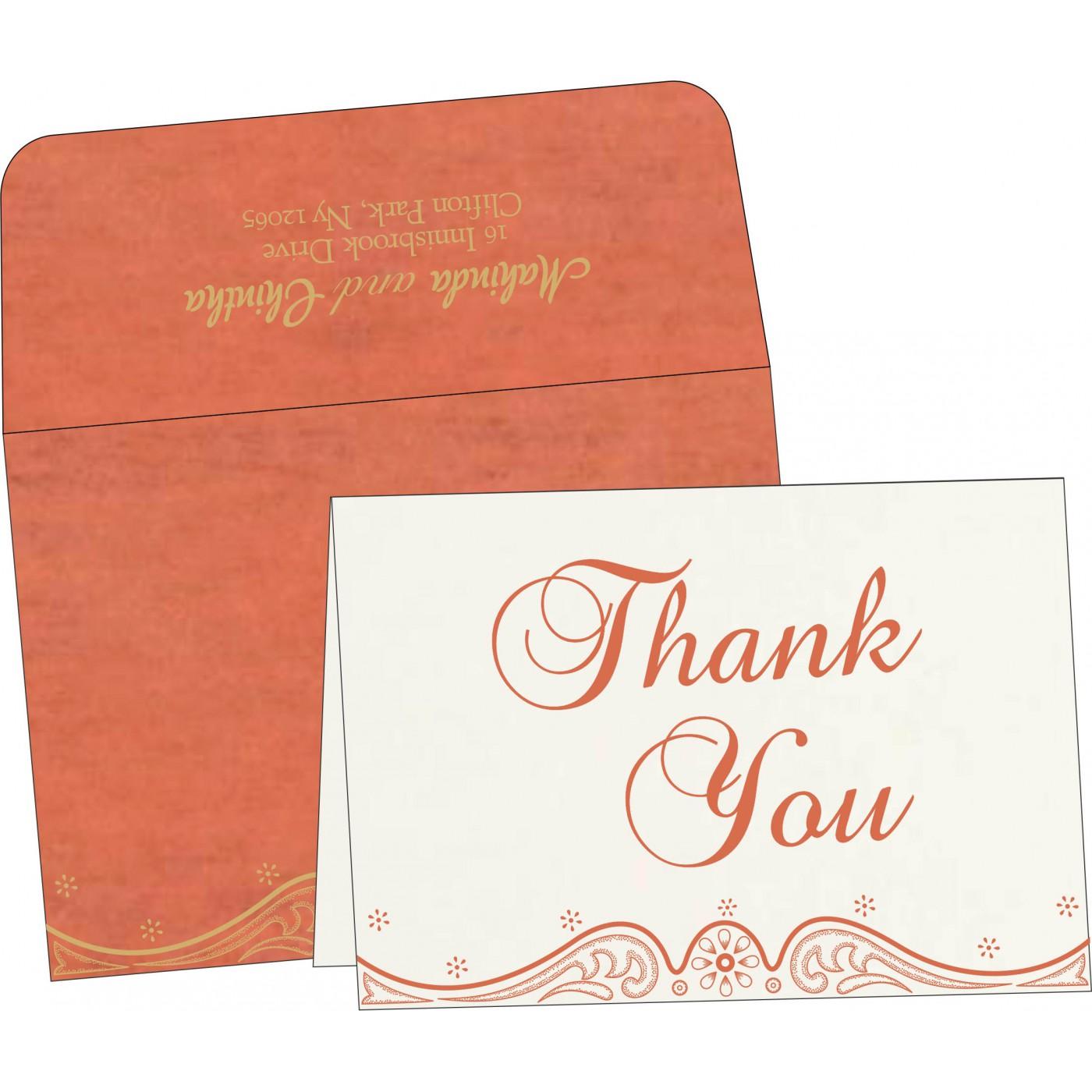 Thank You Cards : TYC-8221L - 123WeddingCards