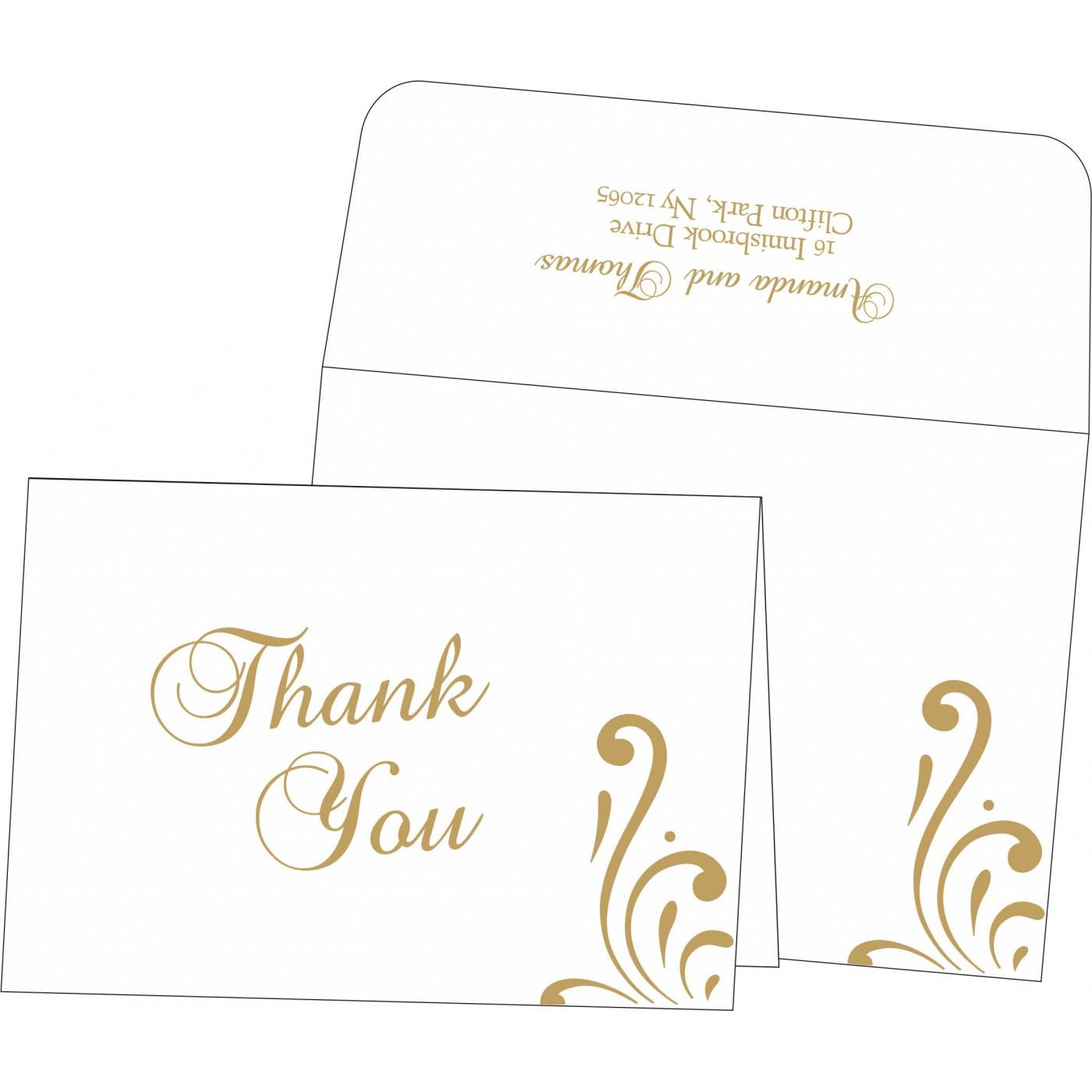 Thank You Cards : TYC-8223D - 123WeddingCards