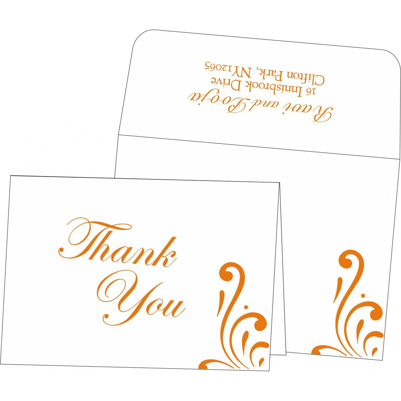 Thank You Cards : TYC-8223K - 123WeddingCards