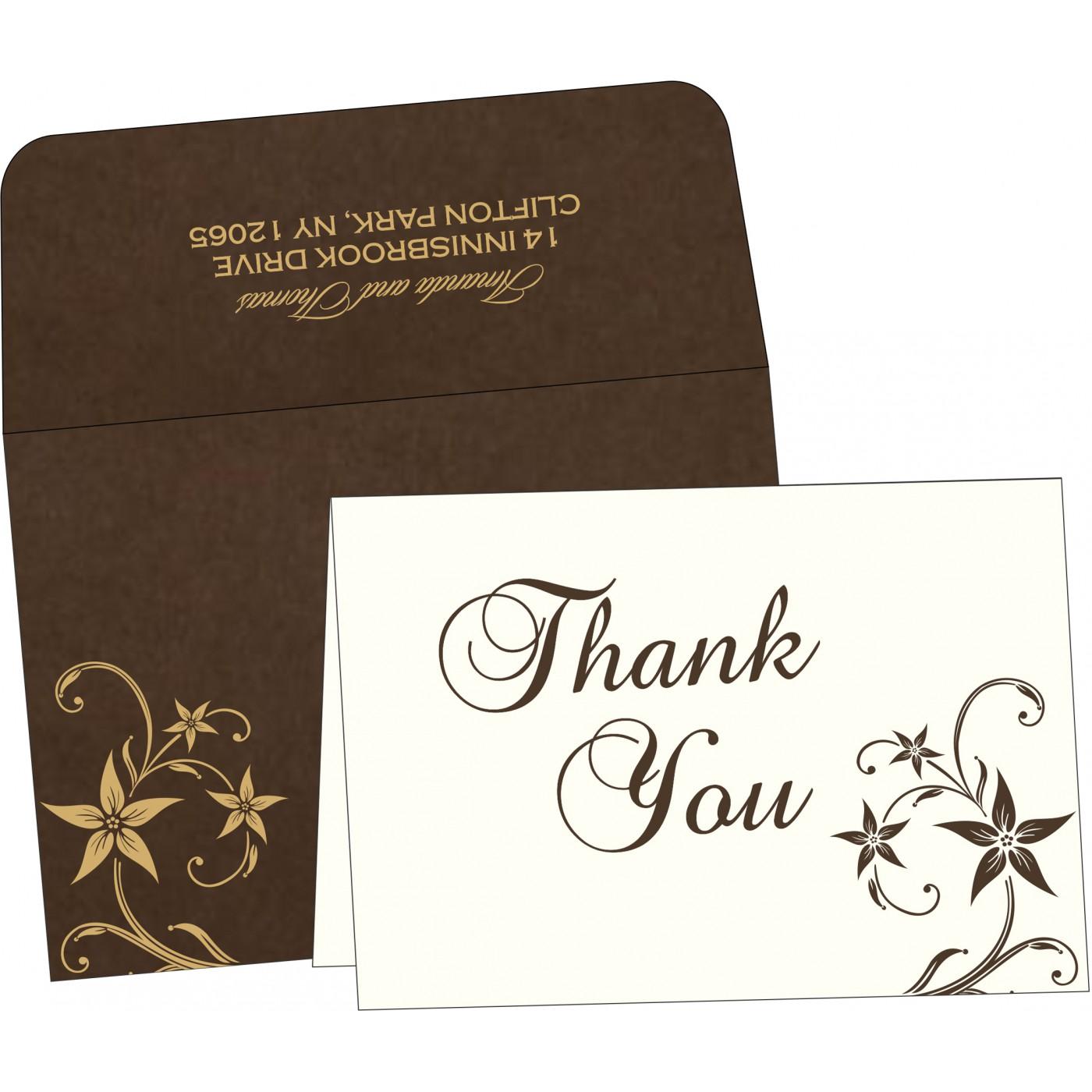 Thank You Cards : TYC-8225C - 123WeddingCards