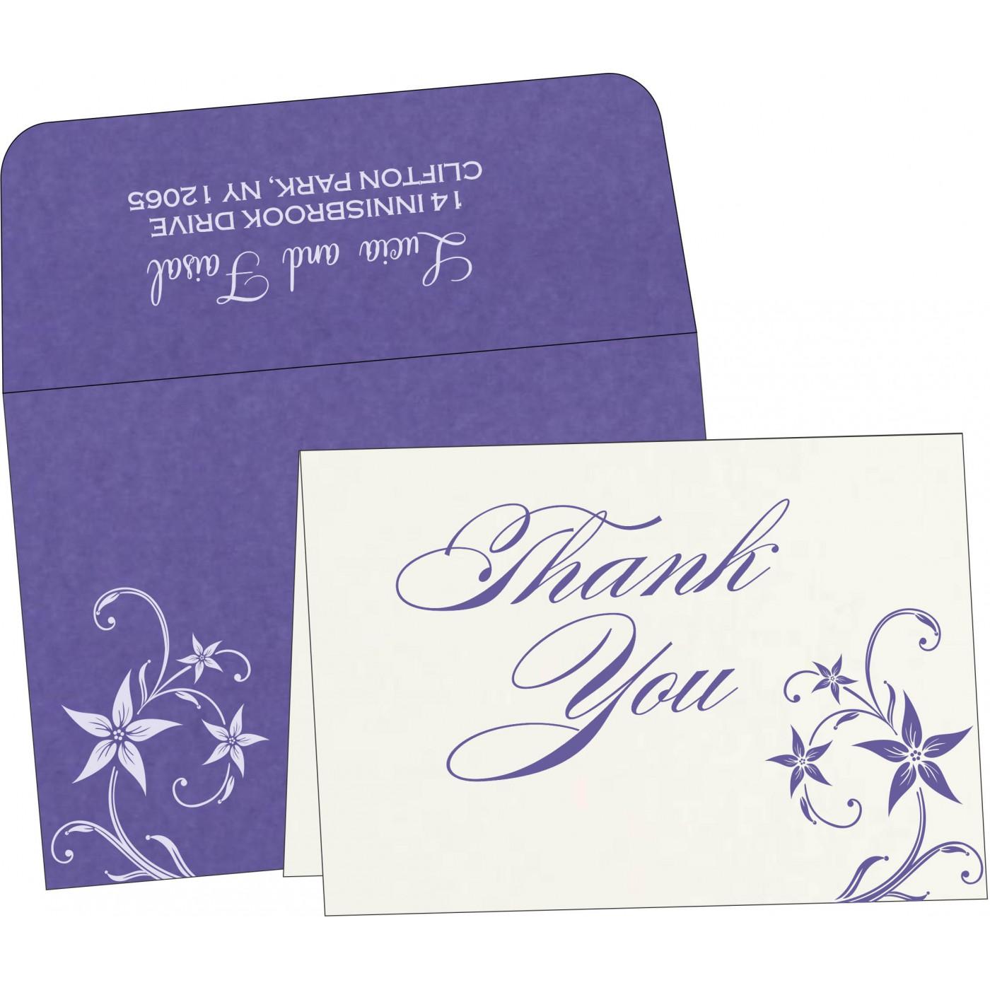 Thank You Cards : TYC-8225H - 123WeddingCards