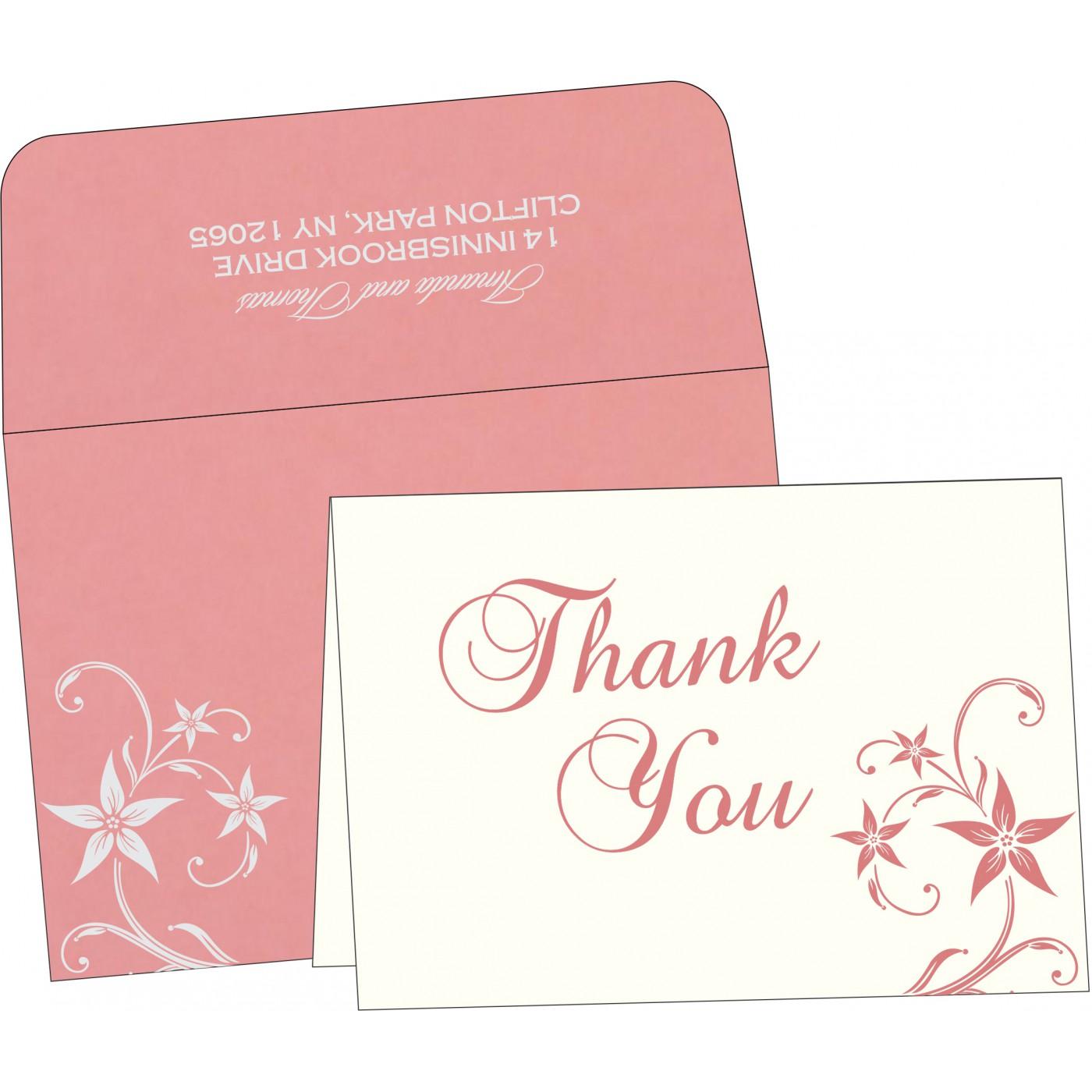 Thank You Cards : TYC-8225M - 123WeddingCards