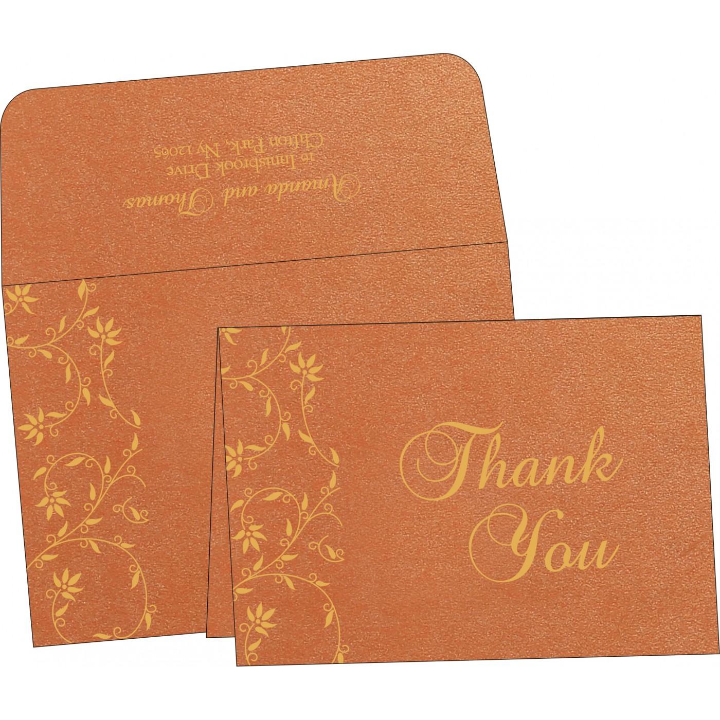 Thank You Cards : TYC-8226E - 123WeddingCards