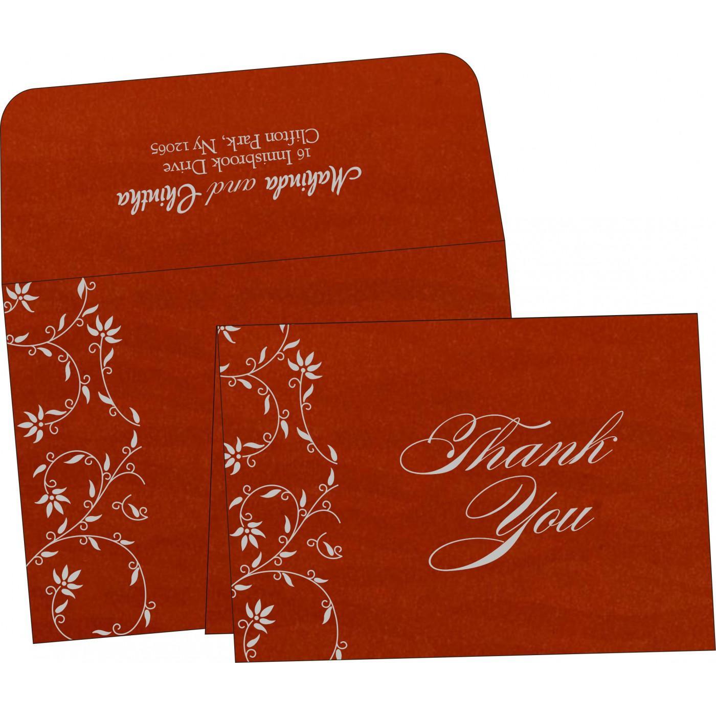Thank You Cards : TYC-8226I - 123WeddingCards