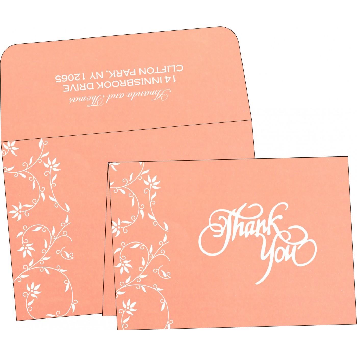 Thank You Cards : TYC-8226K - 123WeddingCards
