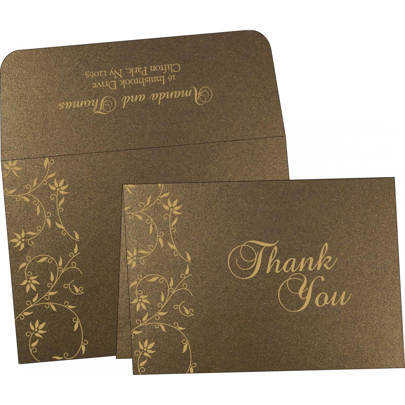 Thank You Cards : TYC-8226N - 123WeddingCards