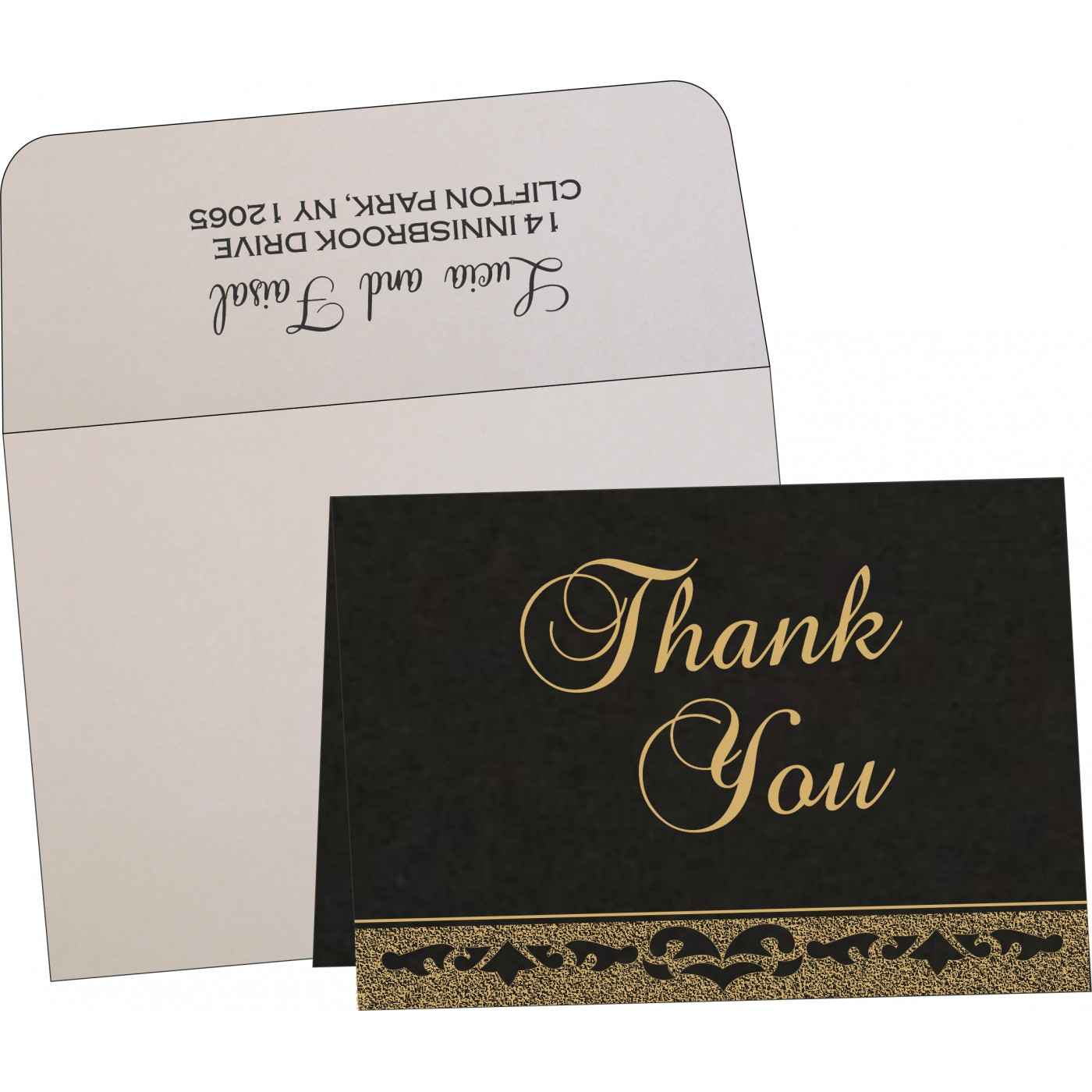 Thank You Cards : TYC-8227A - 123WeddingCards