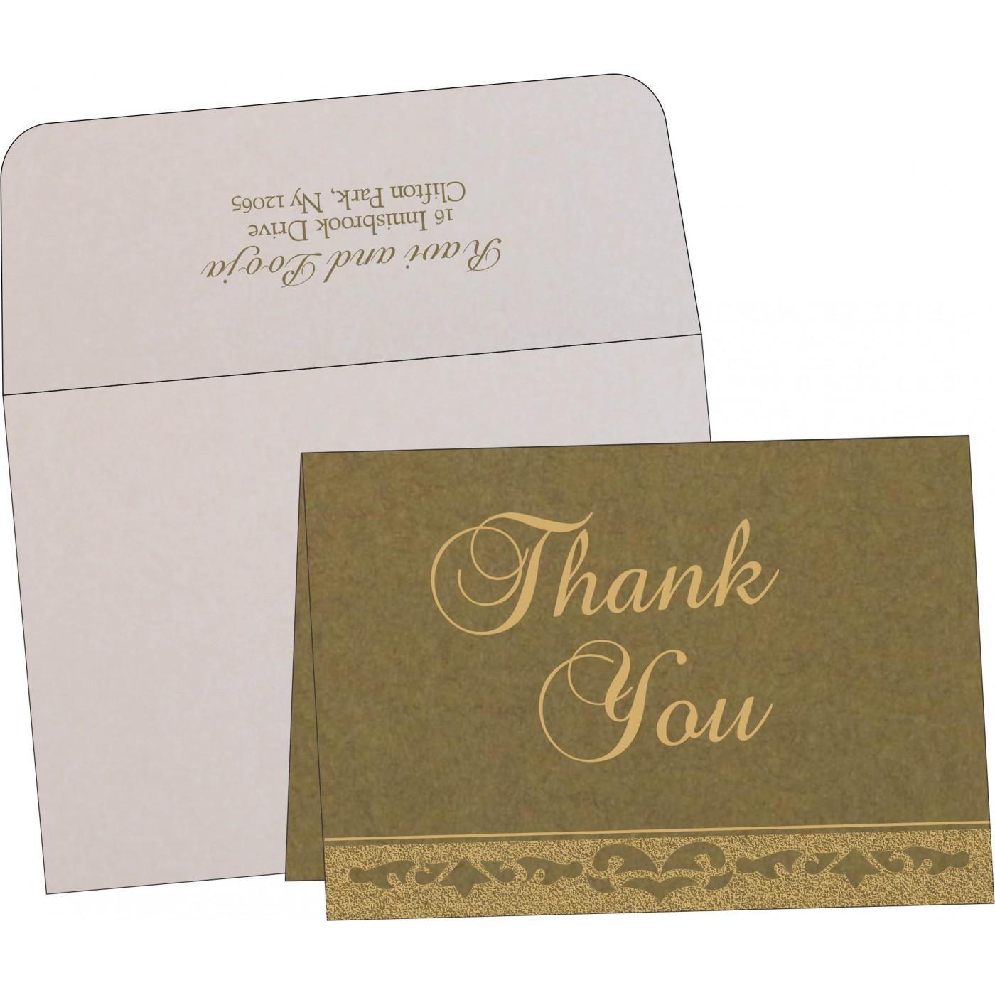 Thank You Cards : TYC-8227F - 123WeddingCards