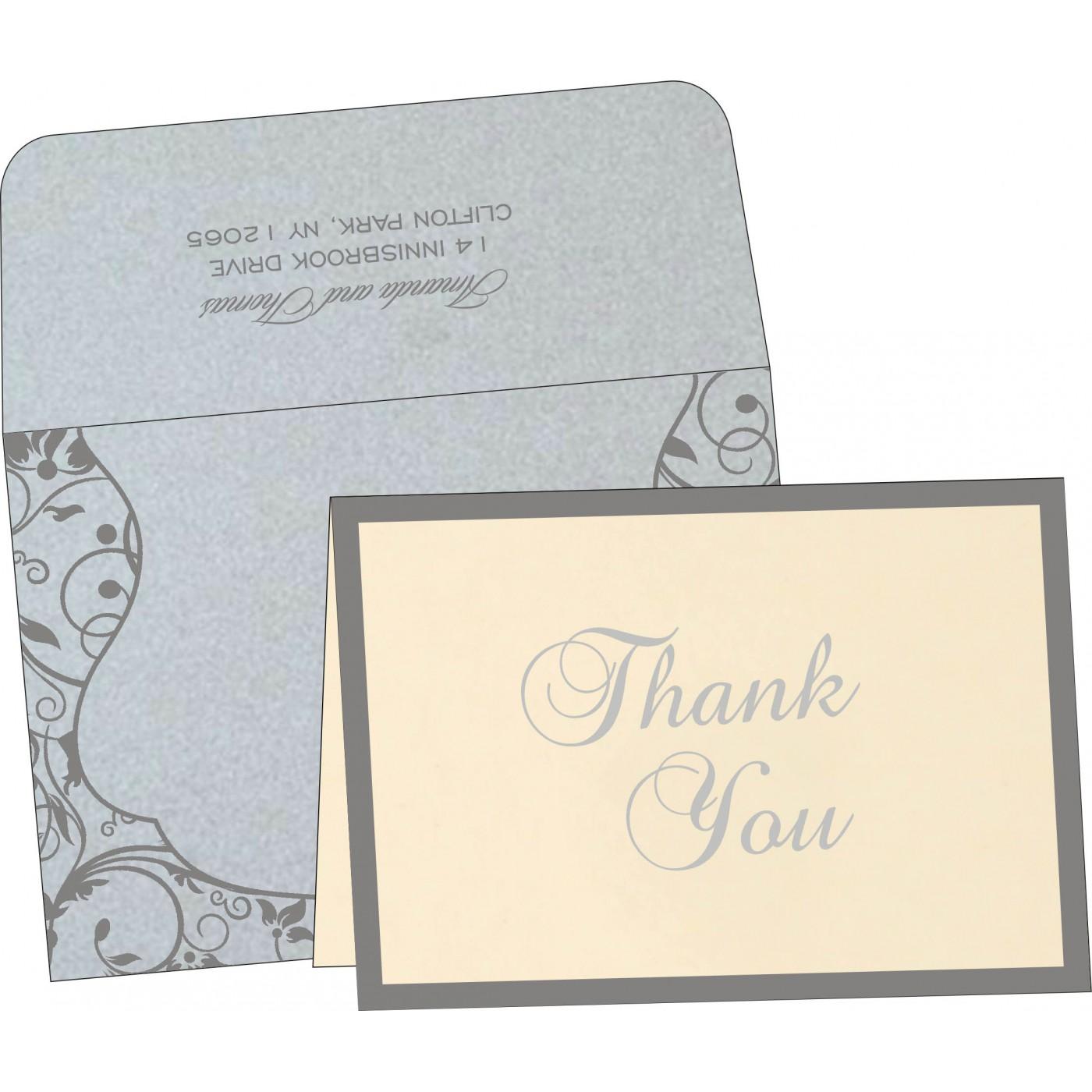 Thank You Cards : TYC-8229B - 123WeddingCards