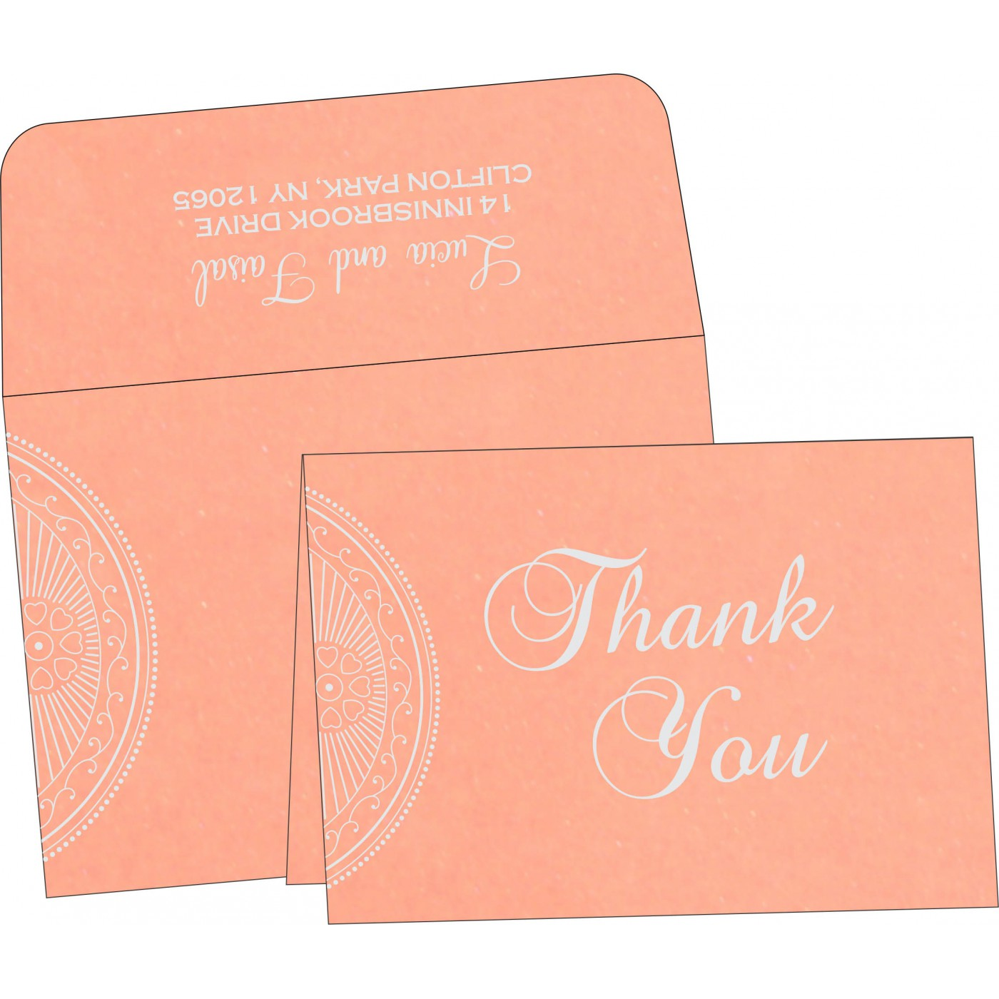 Thank You Cards : TYC-8230A - 123WeddingCards