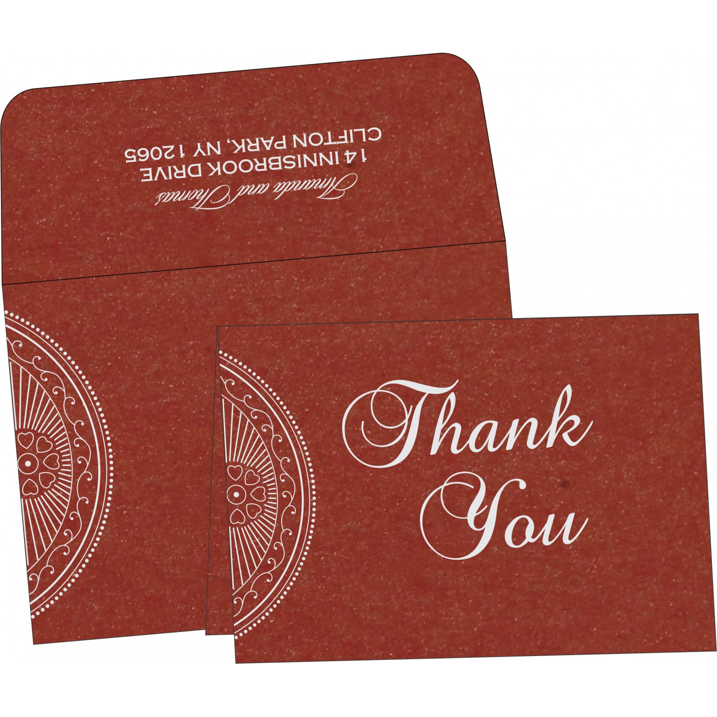 Thank You Cards : TYC-8230C - 123WeddingCards