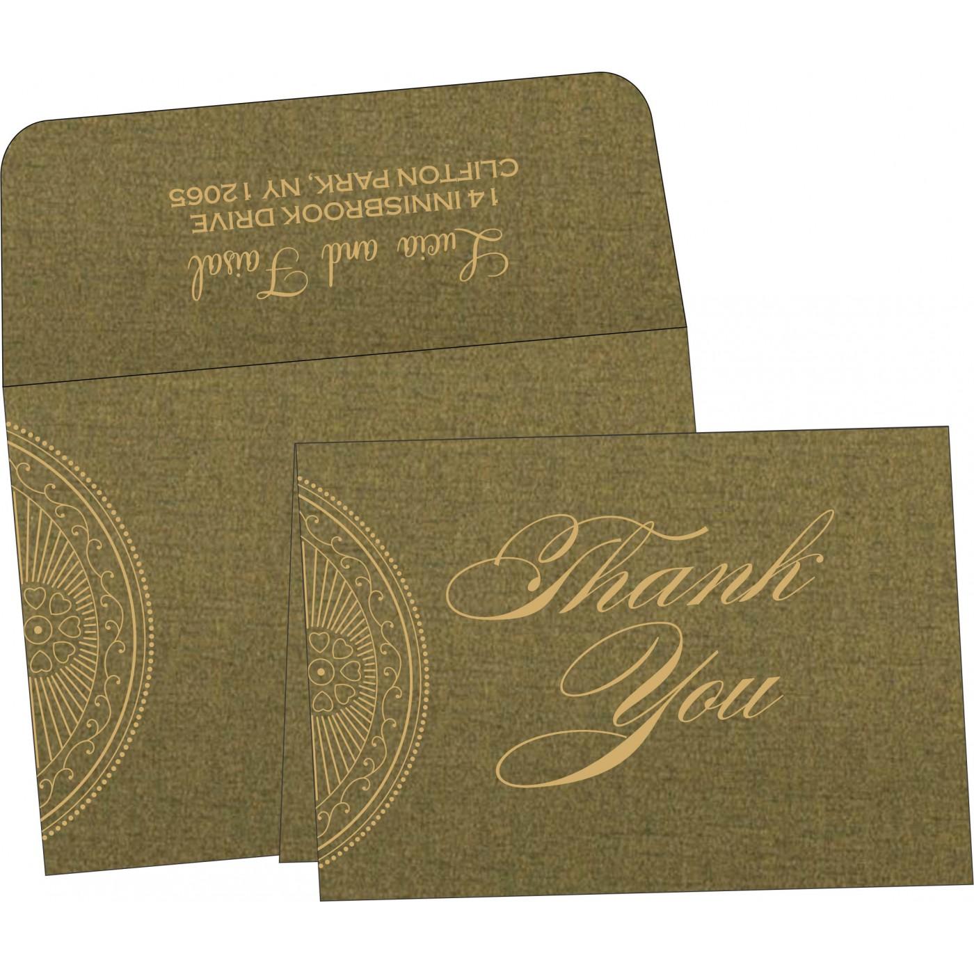 Thank You Cards : TYC-8230L - 123WeddingCards