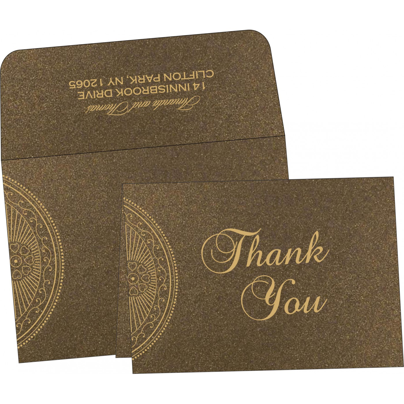 Thank You Cards : TYC-8230M - 123WeddingCards