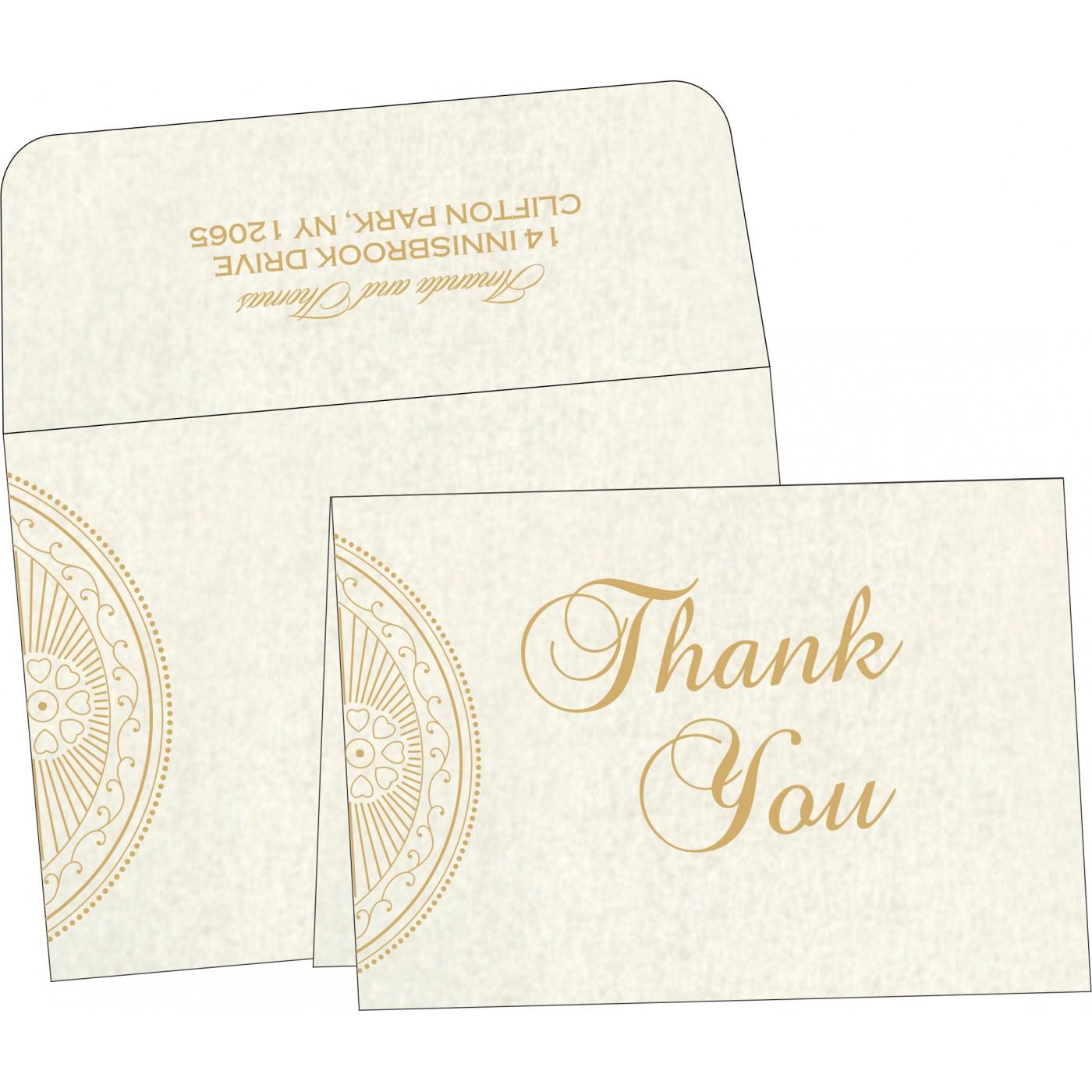 Thank You Cards : TYC-8230O - 123WeddingCards
