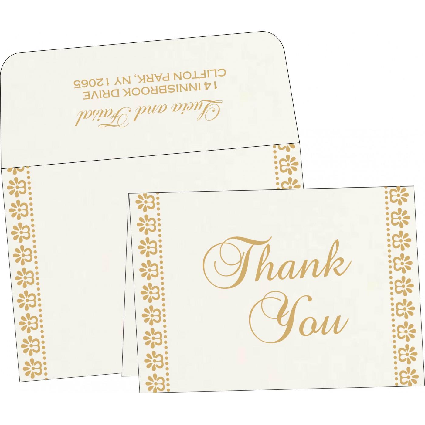 Thank You Cards : TYC-8231J - 123WeddingCards