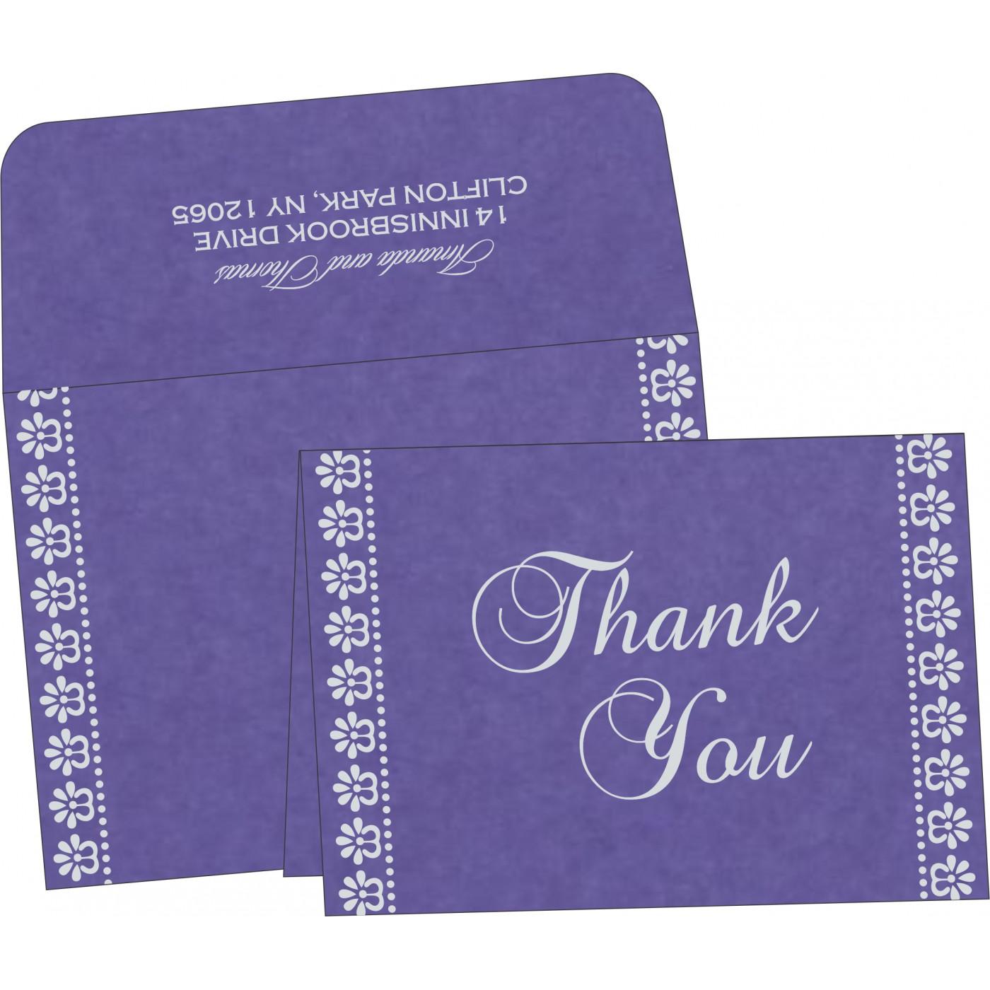 Thank You Cards : TYC-8231K - 123WeddingCards
