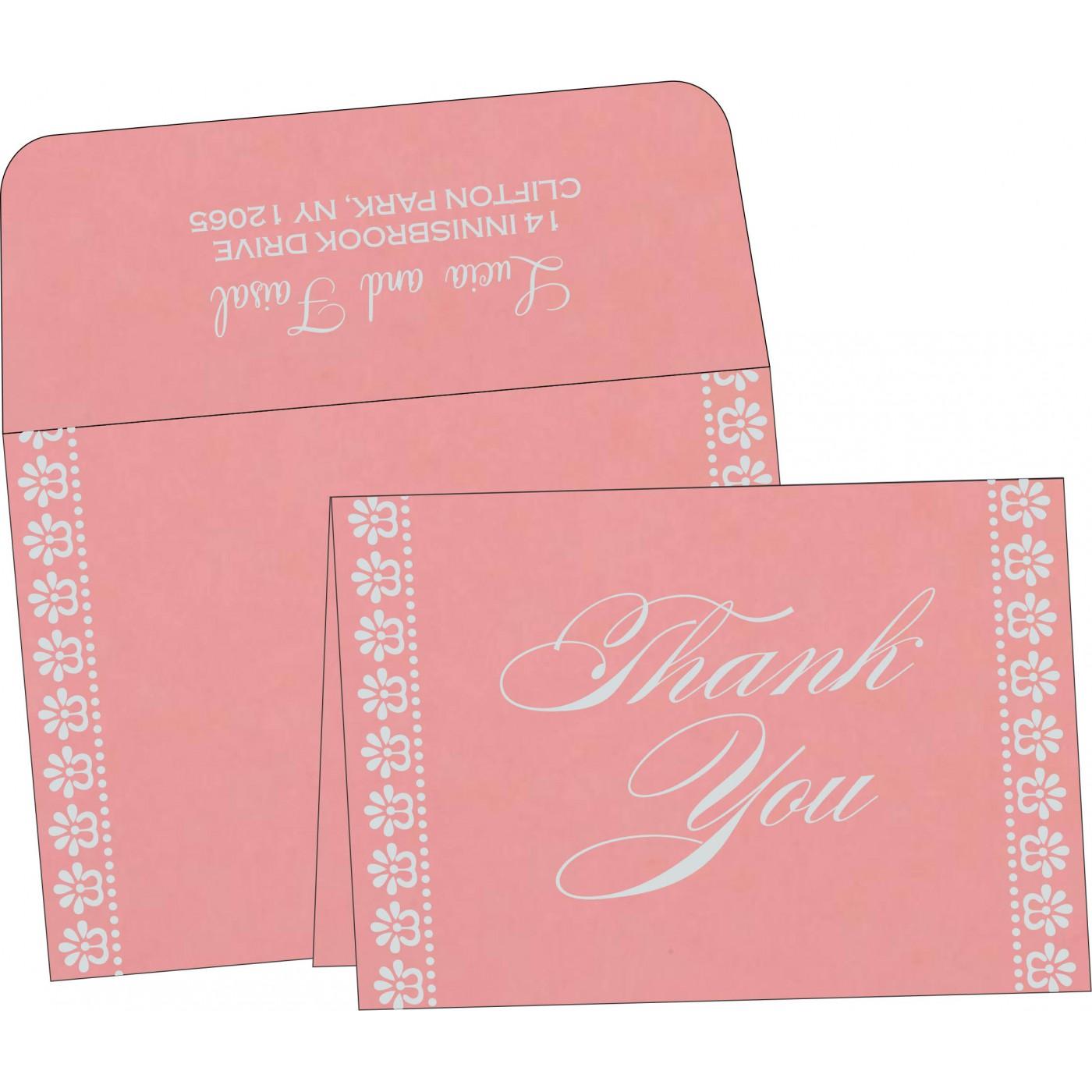 Thank You Cards : TYC-8231P - 123WeddingCards