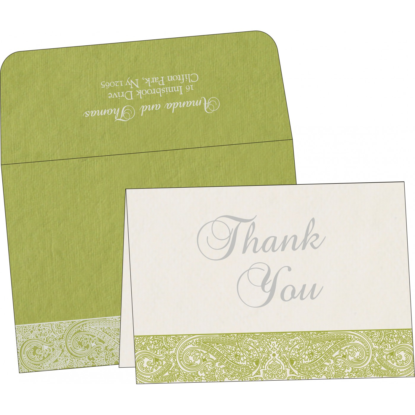 Thank You Cards : TYC-8234C - 123WeddingCards