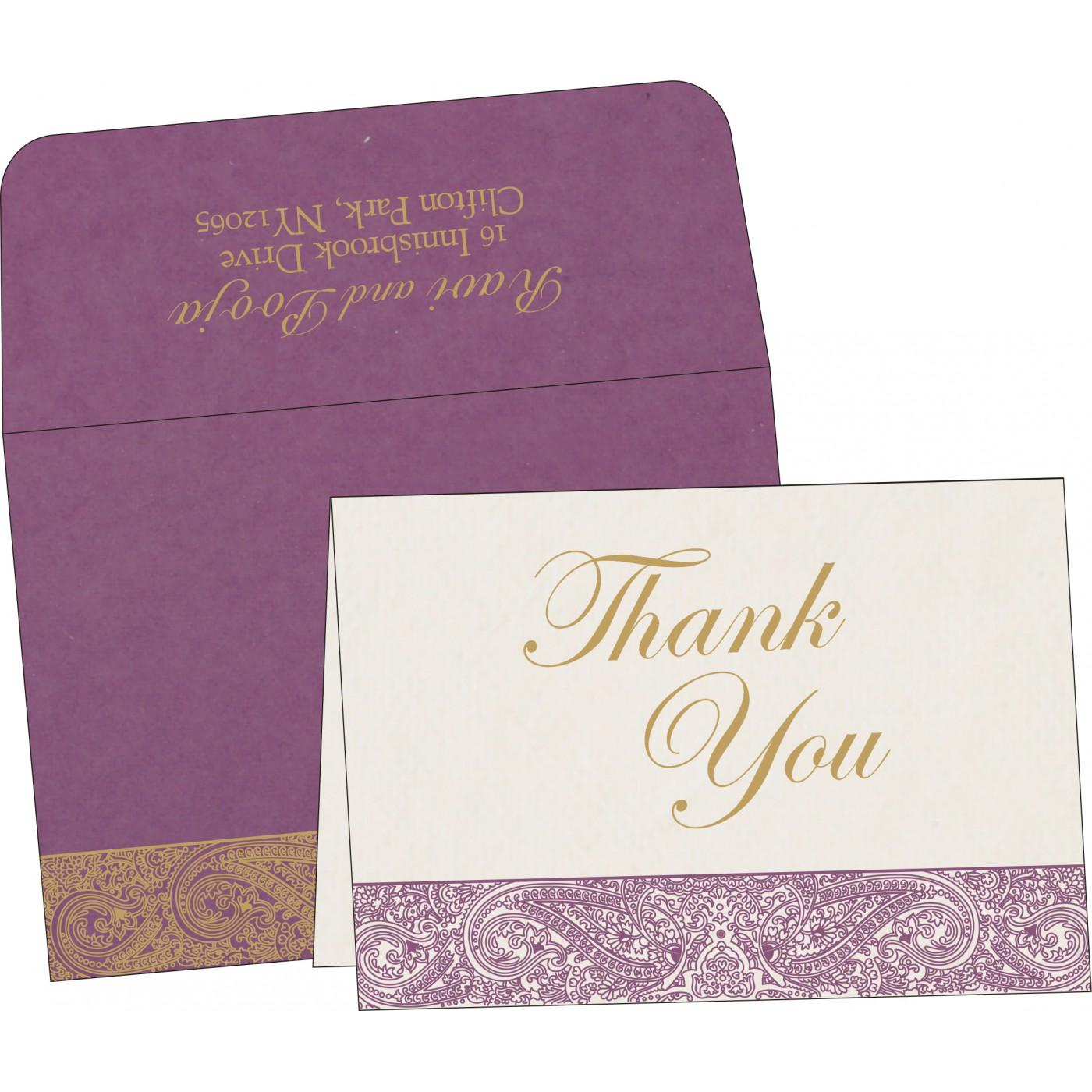 Thank You Cards : TYC-8234D - 123WeddingCards