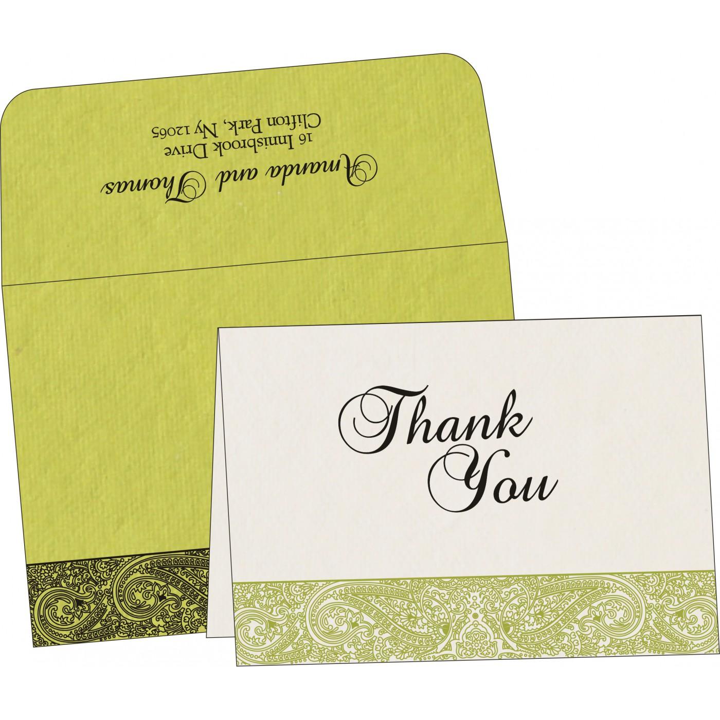Thank You Cards : TYC-8234H - 123WeddingCards