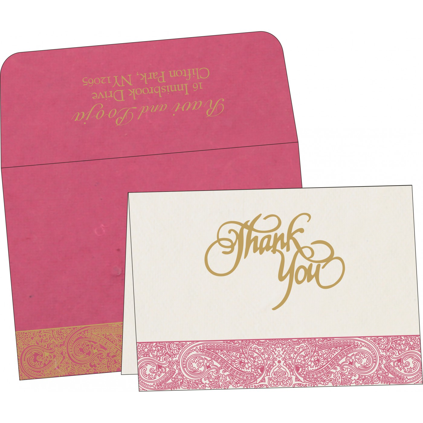 Thank You Cards : TYC-8234I - 123WeddingCards