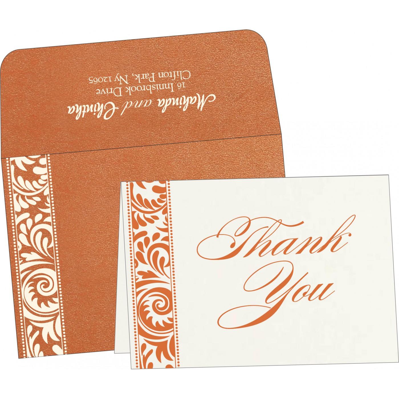 Thank You Cards : TYC-8235G - 123WeddingCards