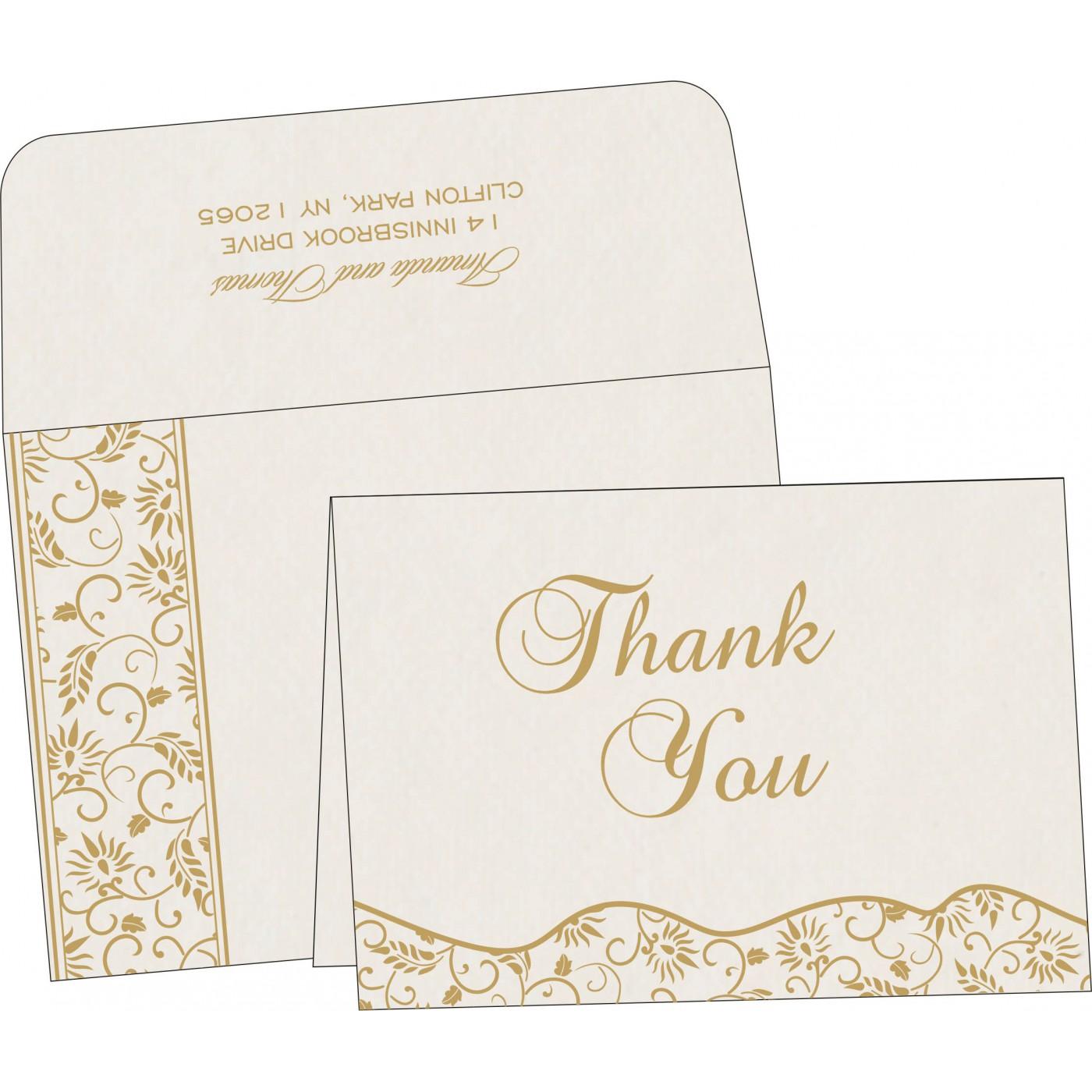 Thank You Cards : TYC-8236B - 123WeddingCards