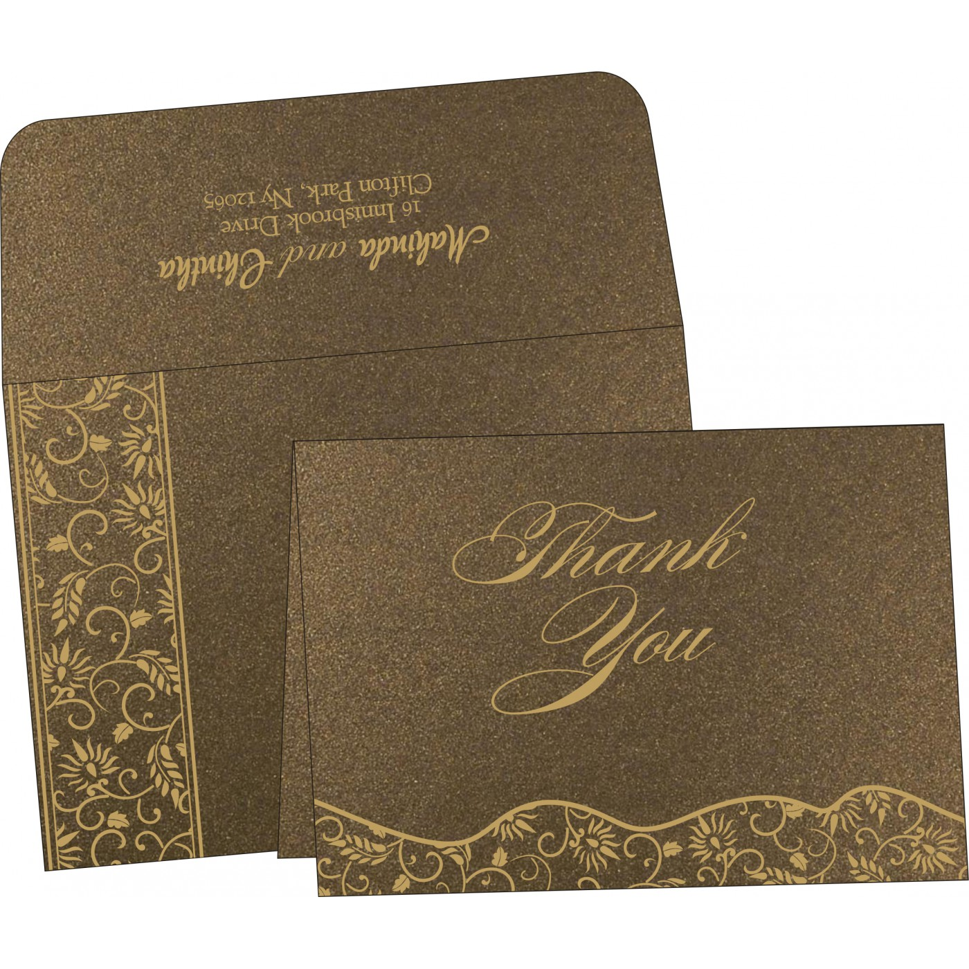 Thank You Cards : TYC-8236I - 123WeddingCards
