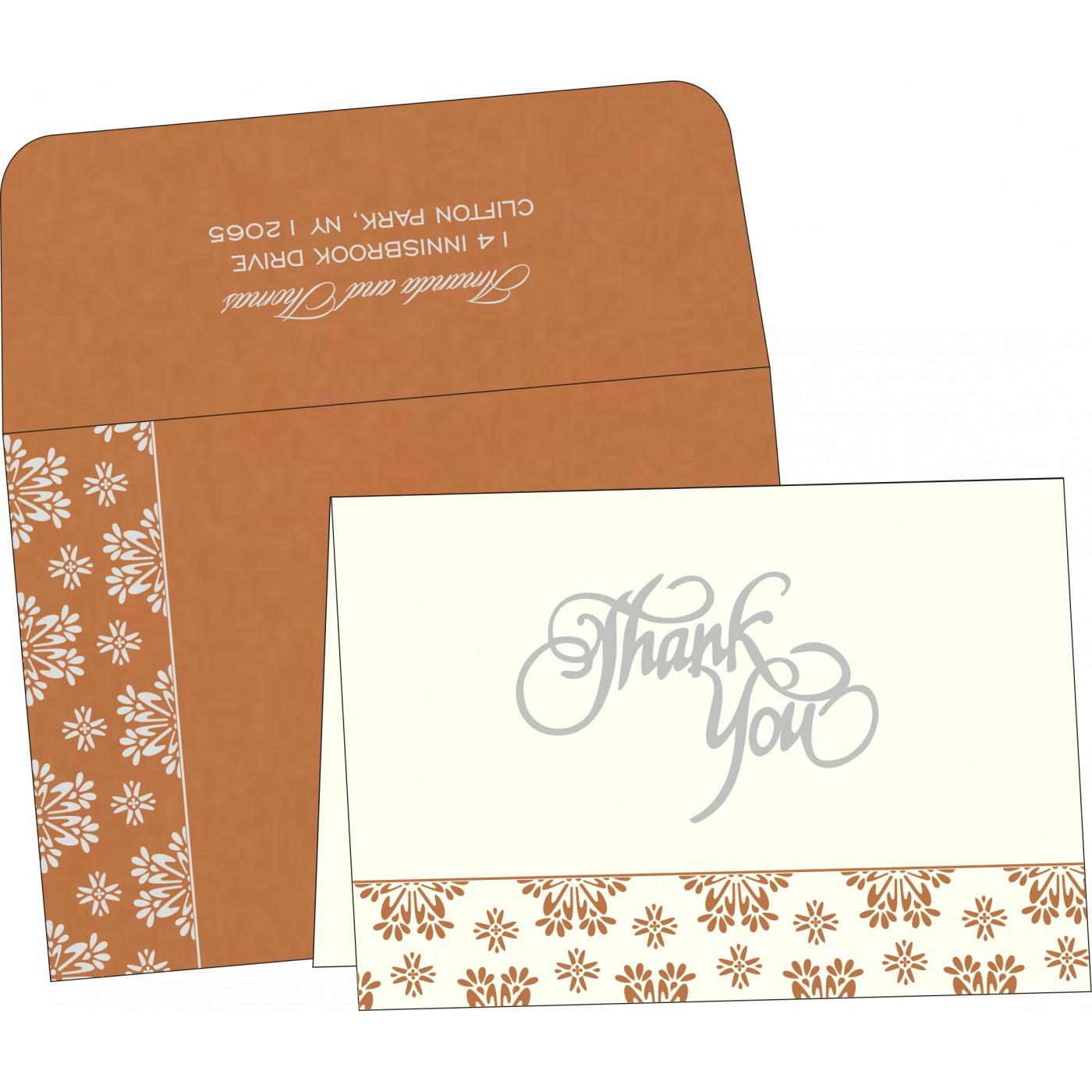 Thank You Cards : TYC-8237J - 123WeddingCards