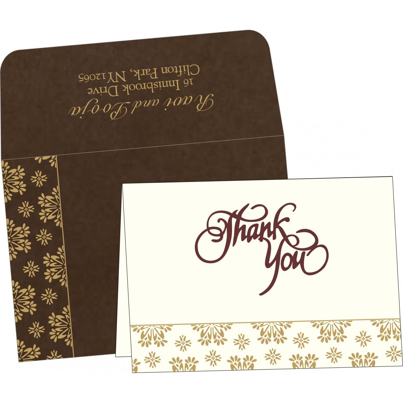 Thank You Cards : TYC-8237L - 123WeddingCards