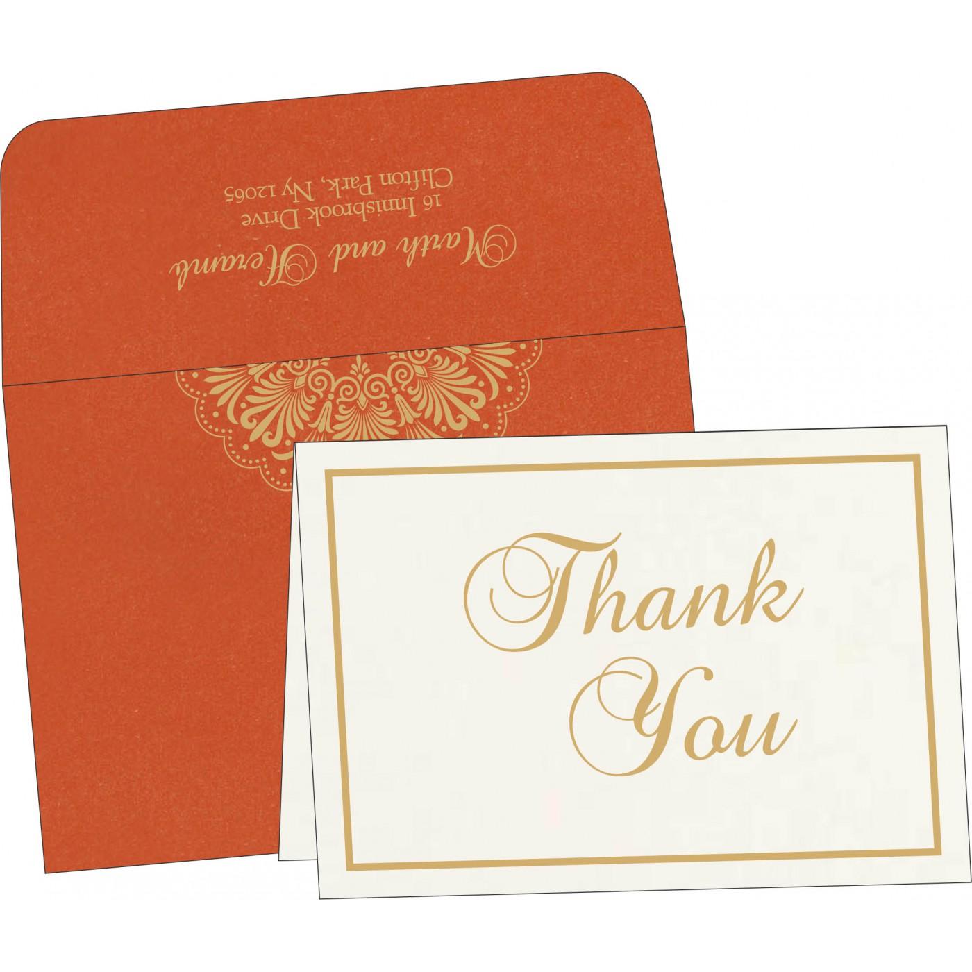 Thank You Cards : TYC-8238F - 123WeddingCards