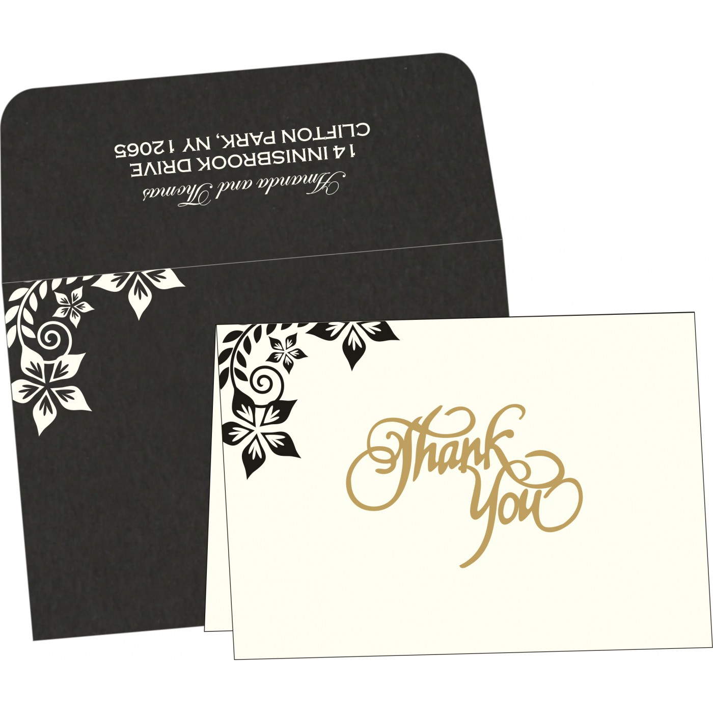 Thank You Cards : TYC-8240A - 123WeddingCards