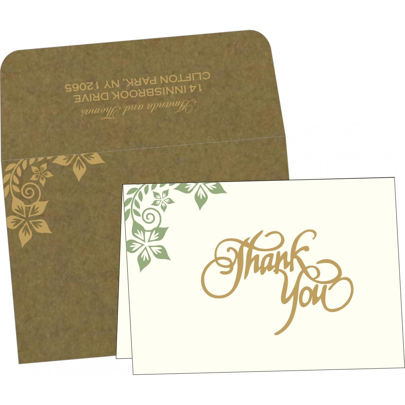 Thank You Cards : TYC-8240F - 123WeddingCards