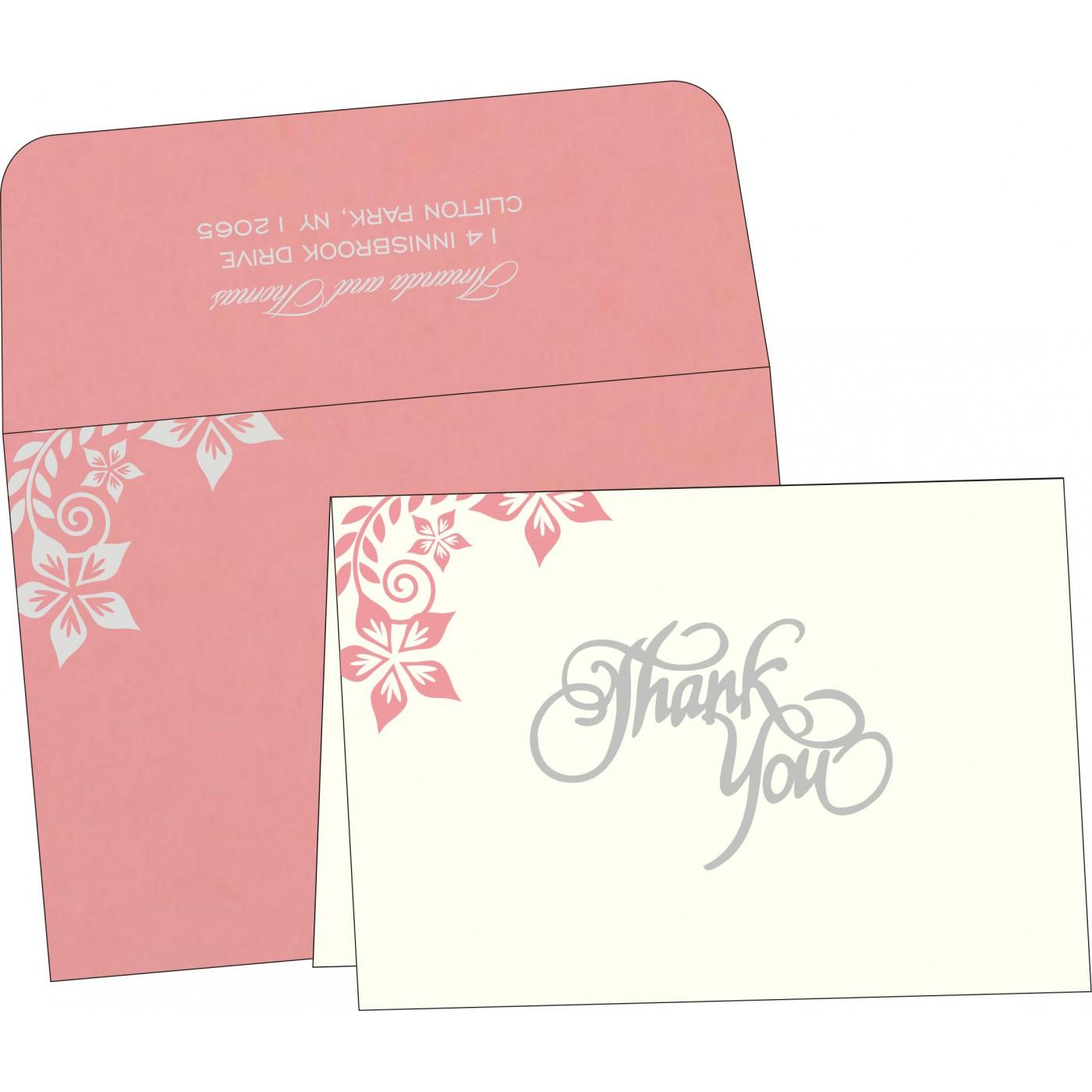 Thank You Cards : TYC-8240G - 123WeddingCards