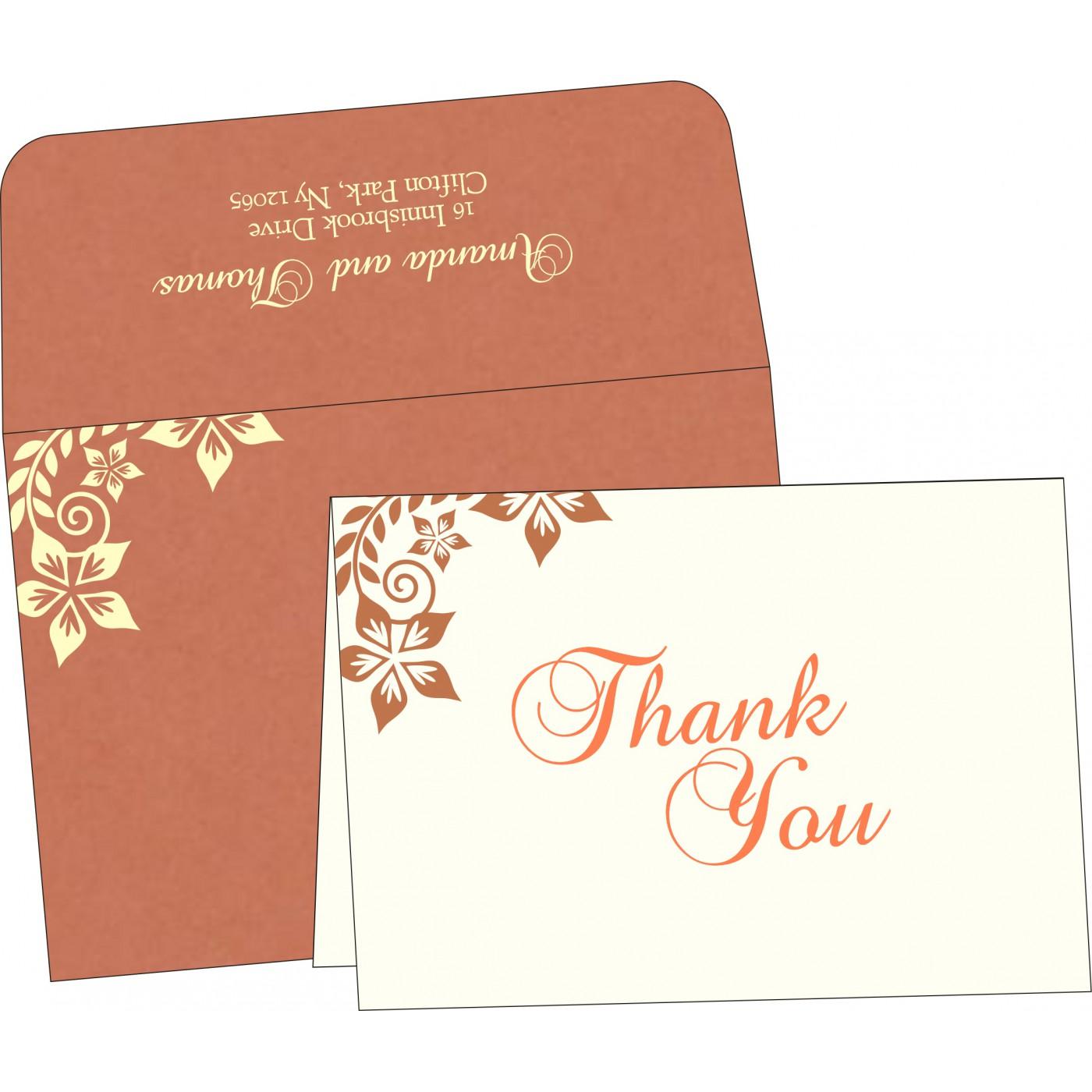 Thank You Cards : TYC-8240H - 123WeddingCards