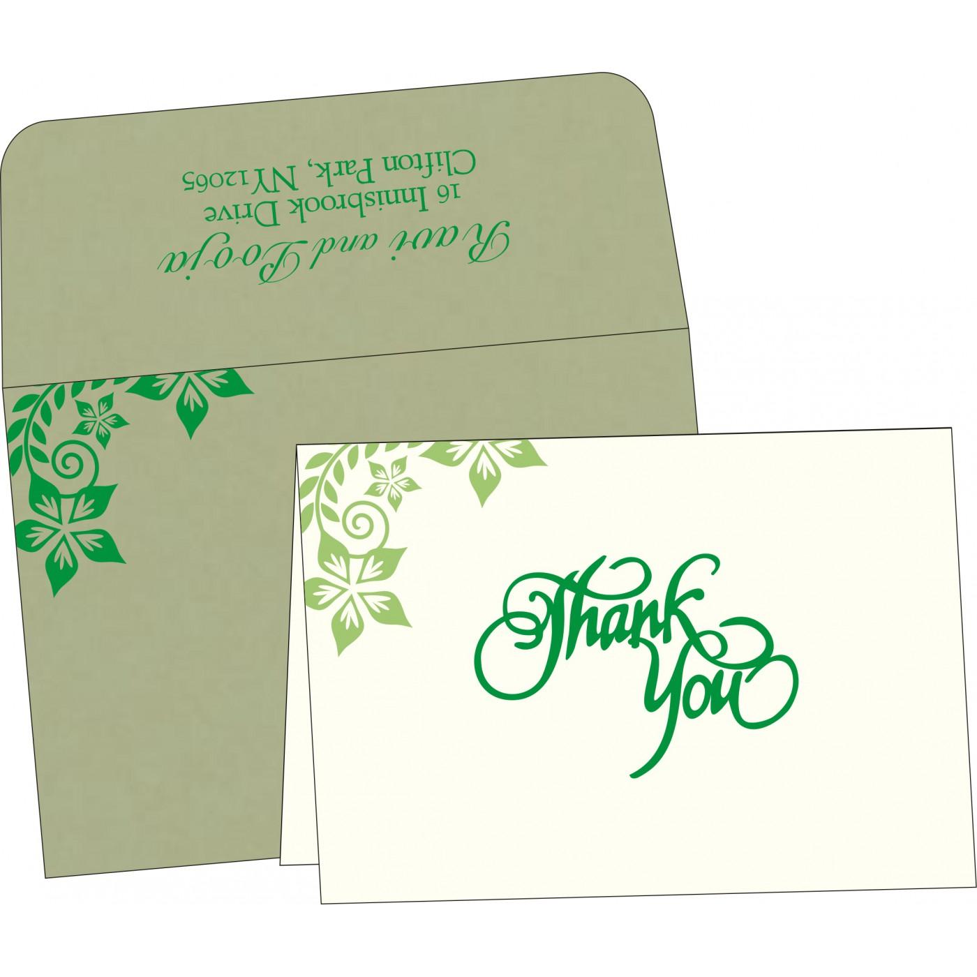 Thank You Cards : TYC-8240I - 123WeddingCards