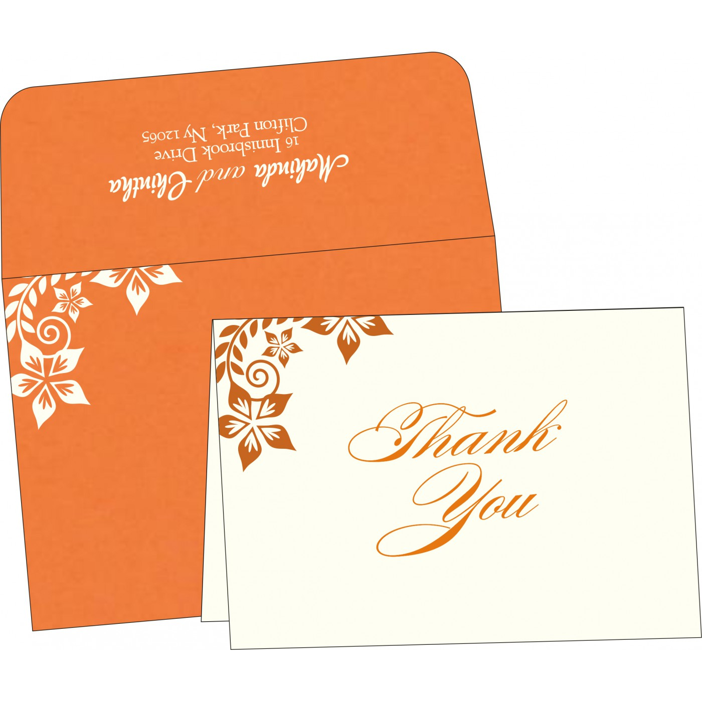 Thank You Cards : TYC-8240K - 123WeddingCards