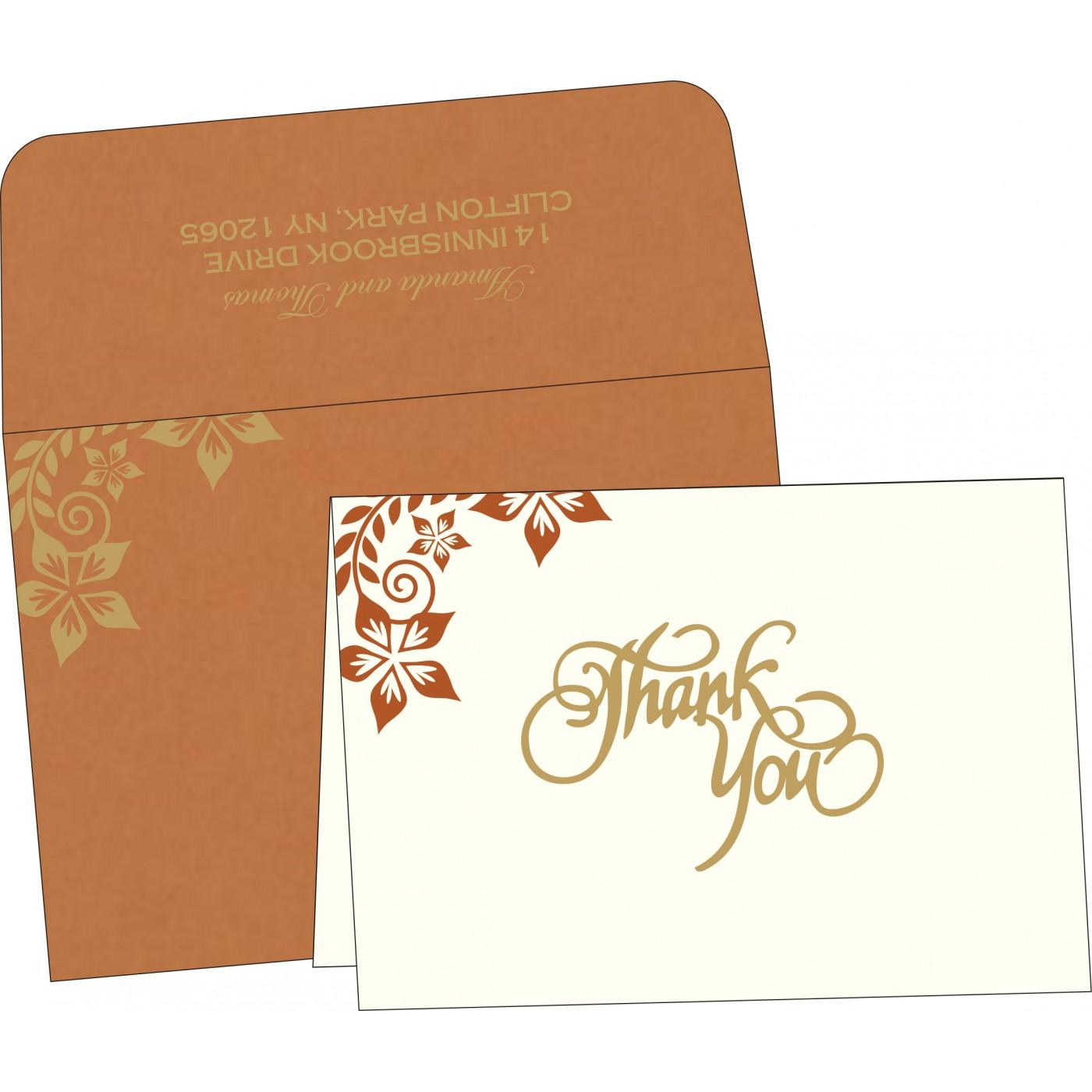 Thank You Cards : TYC-8240L - 123WeddingCards